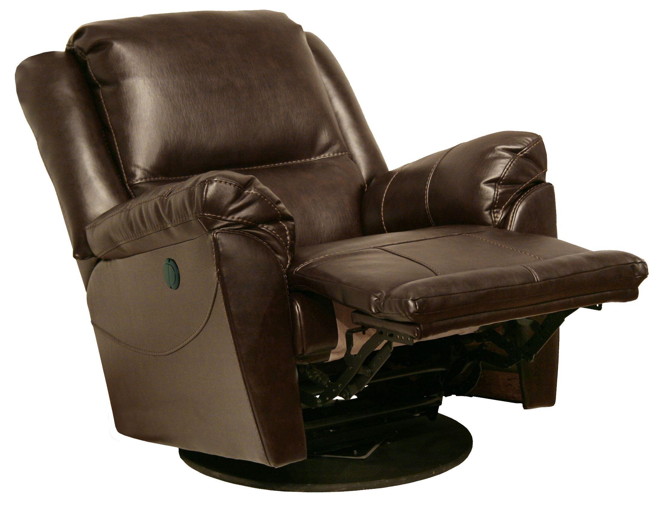 Maverick java swivel glider recliner from catnapper for Catnapper maverick chaise swivel glider recliner