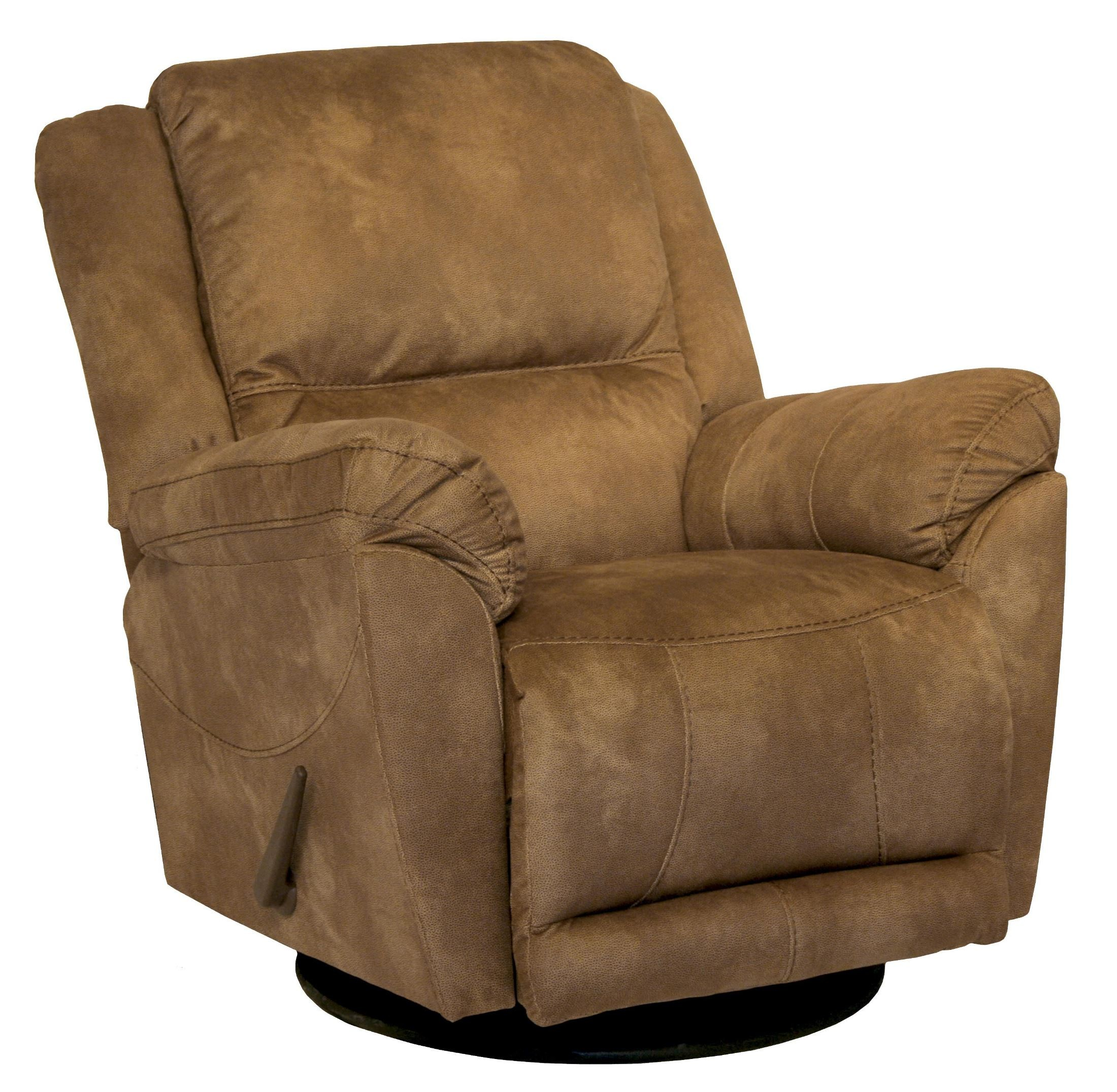 Maverick saddle swivel glider recliner from catnapper for Catnapper maverick chaise swivel glider recliner