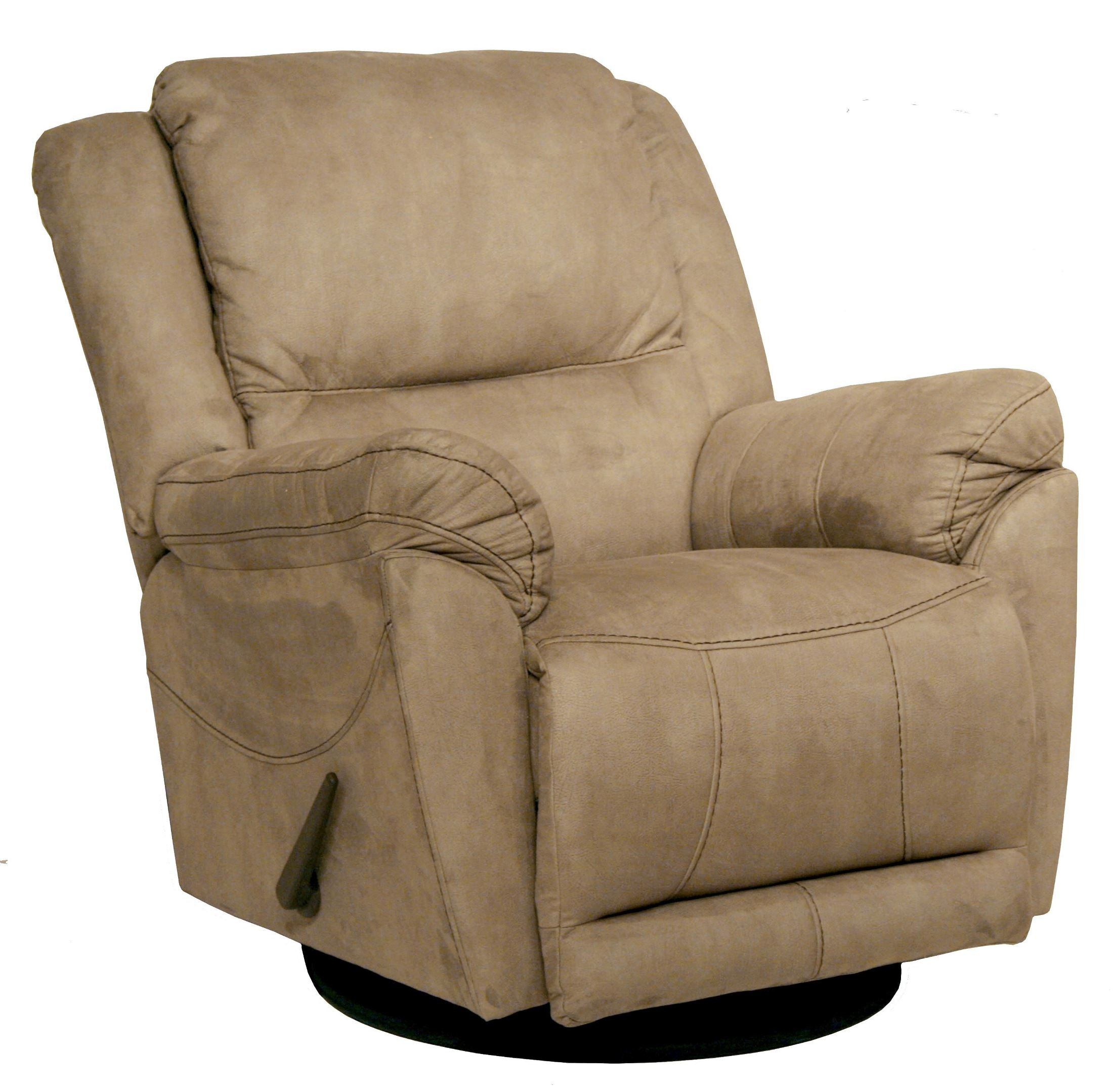 Maverick stone swivel glider recliner from catnapper for Catnapper cloud nine chaise recliner