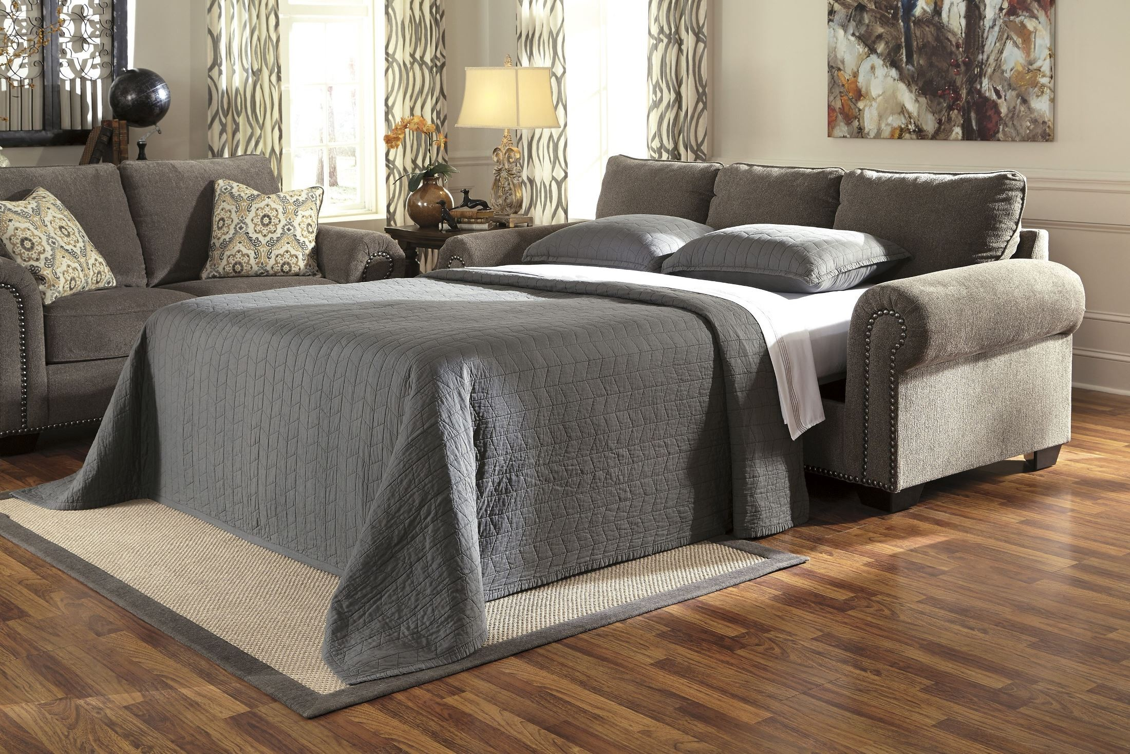Emelen Alloy Queen Sofa Sleeper from Ashley 4560039 Coleman