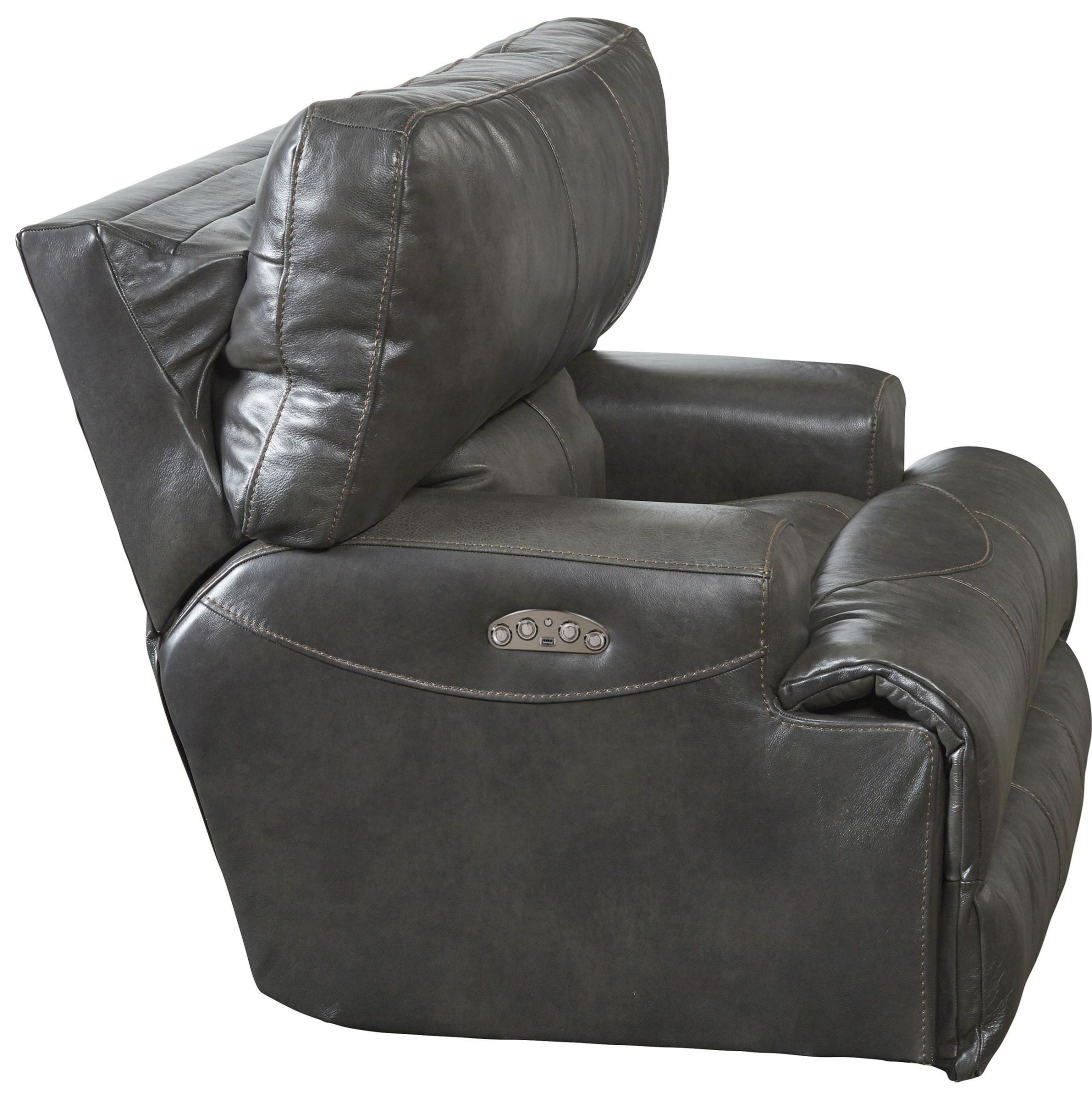 Wembley Steel Power Lay Flat Recliner 64580 7 1283 28