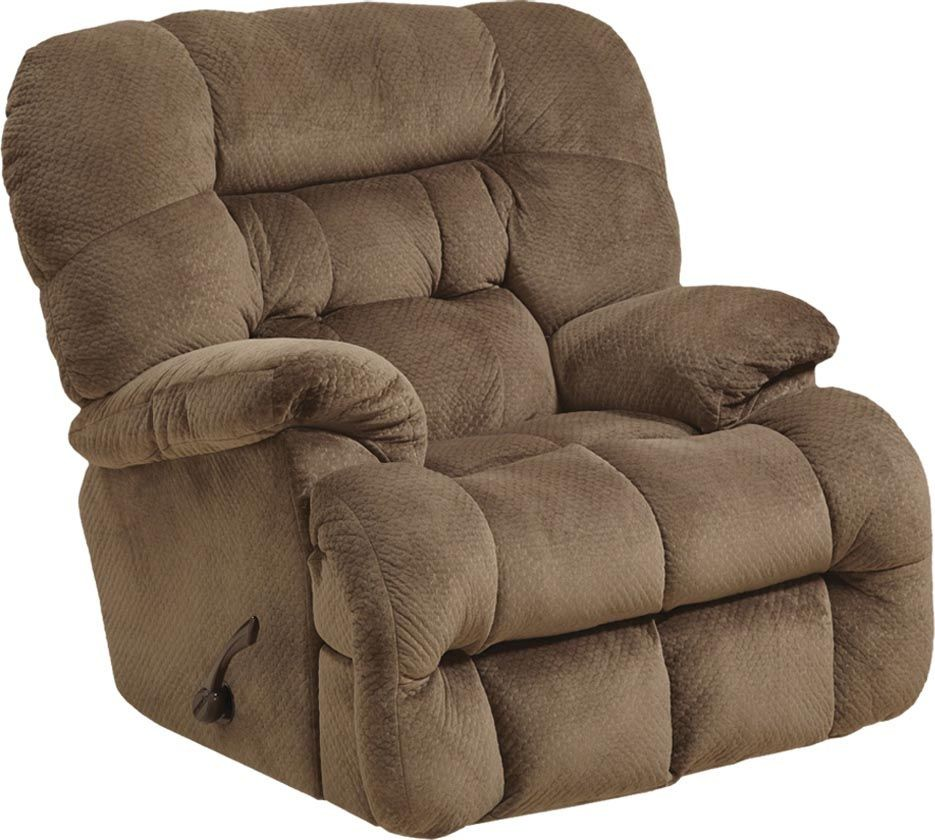 Colson mocha chaise rocker recliner from catnapper for Catnapper cloud nine chaise recliner