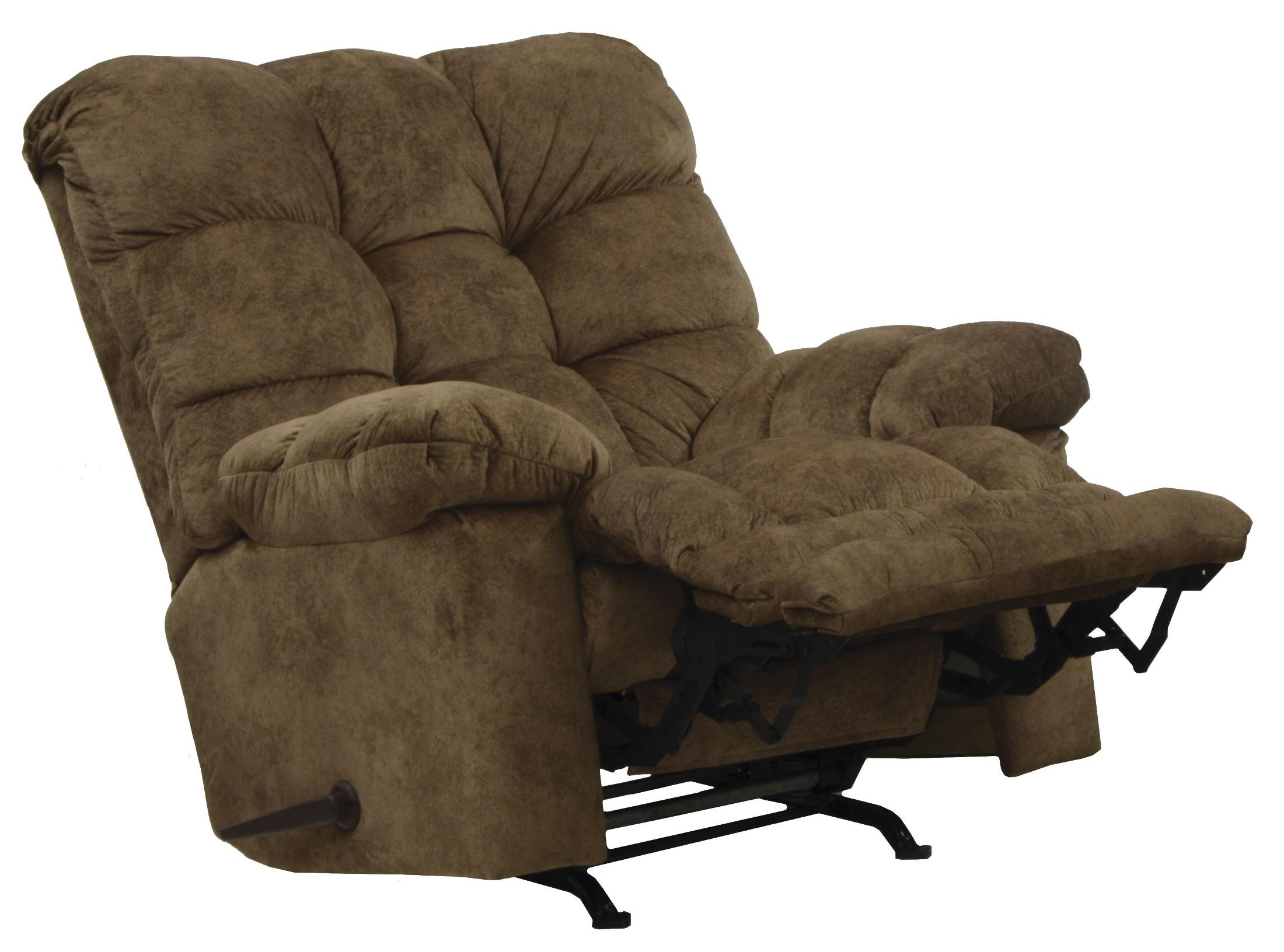 Bronson mocha recliner from catnapper 46902231249 for Catnapper cloud nine chaise recliner