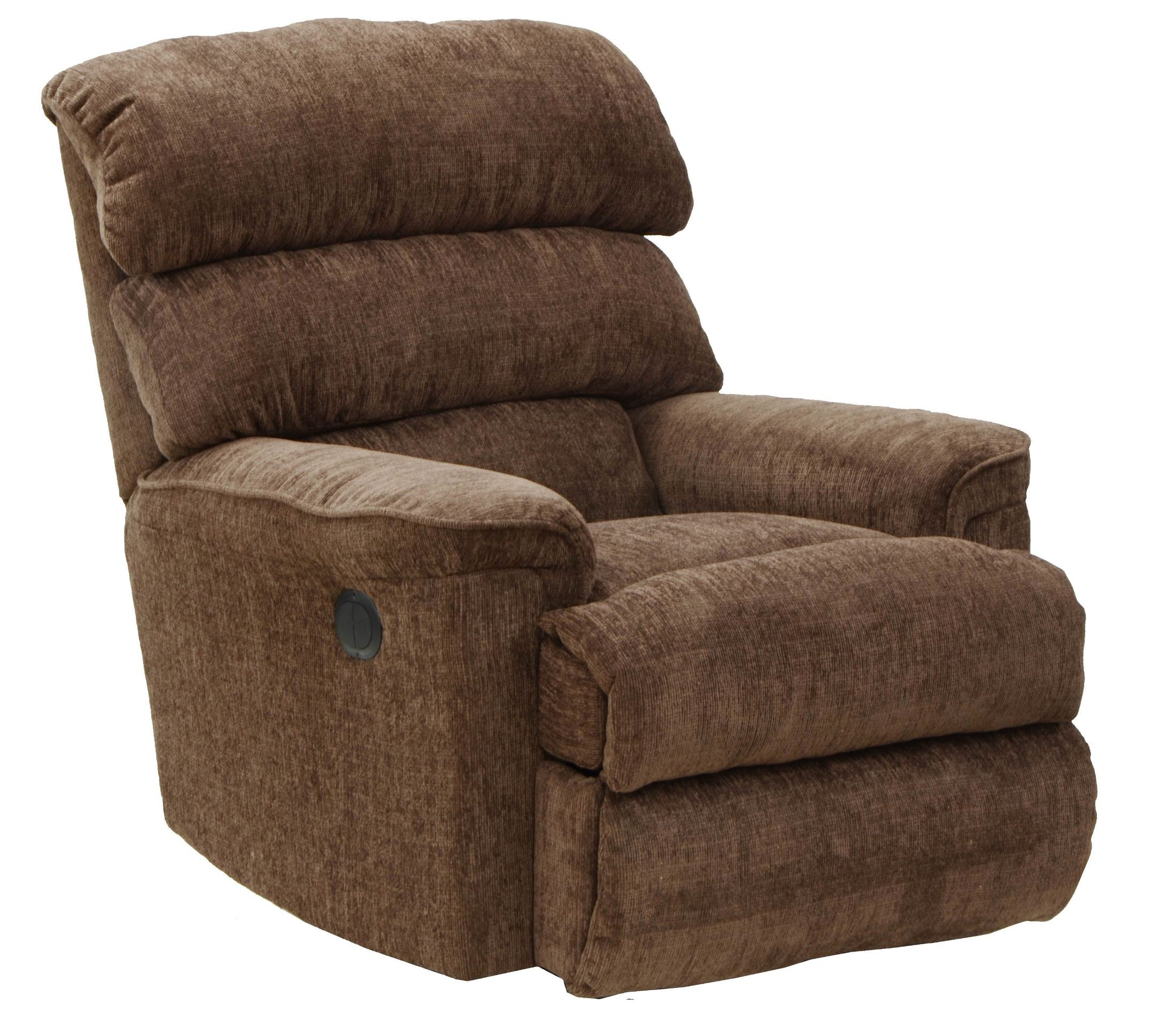 Pearson mocha power recliner from catnapper 647394000000 for Catnapper cloud nine chaise recliner