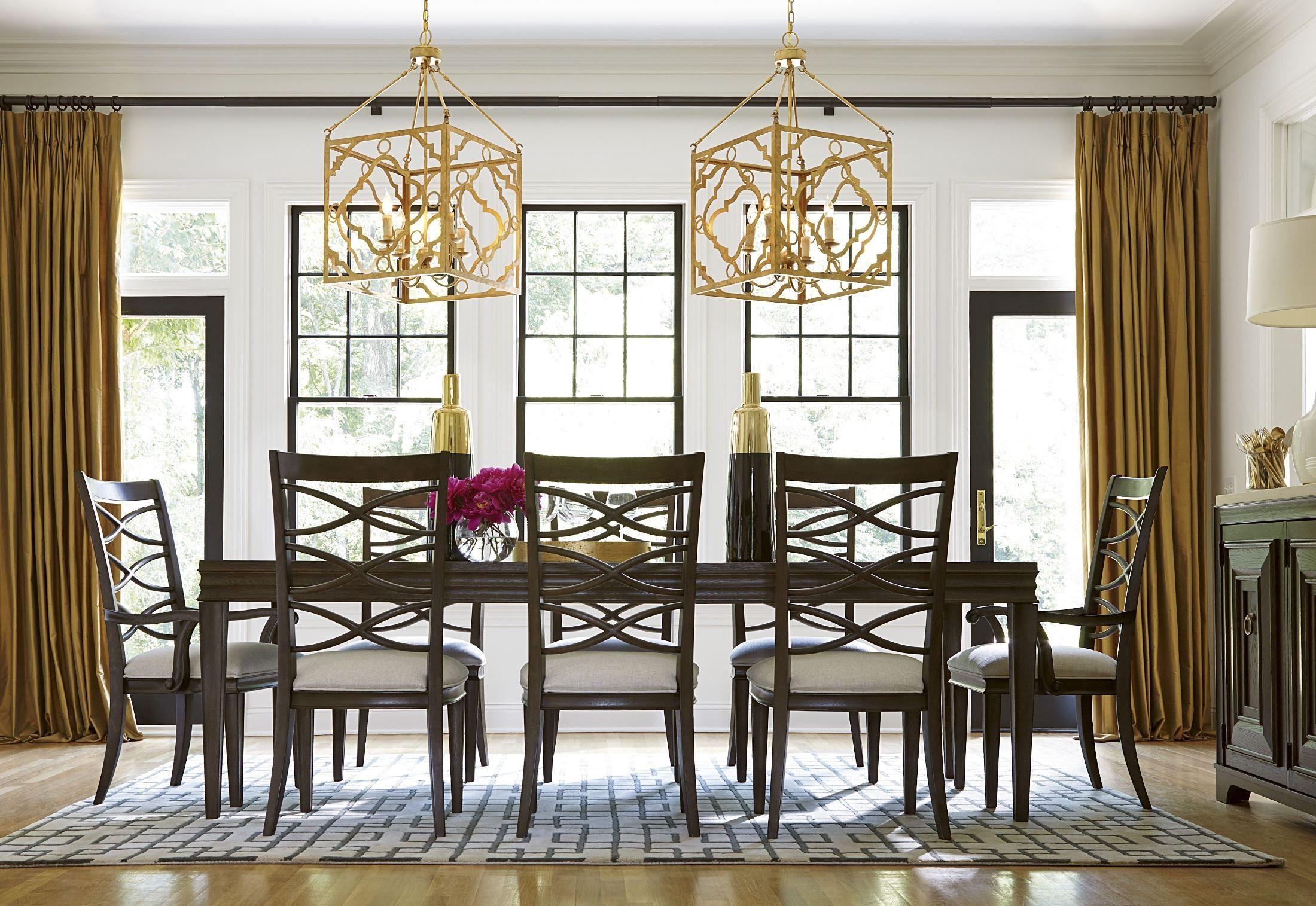 California Rectangular Dining Room Set From Universal