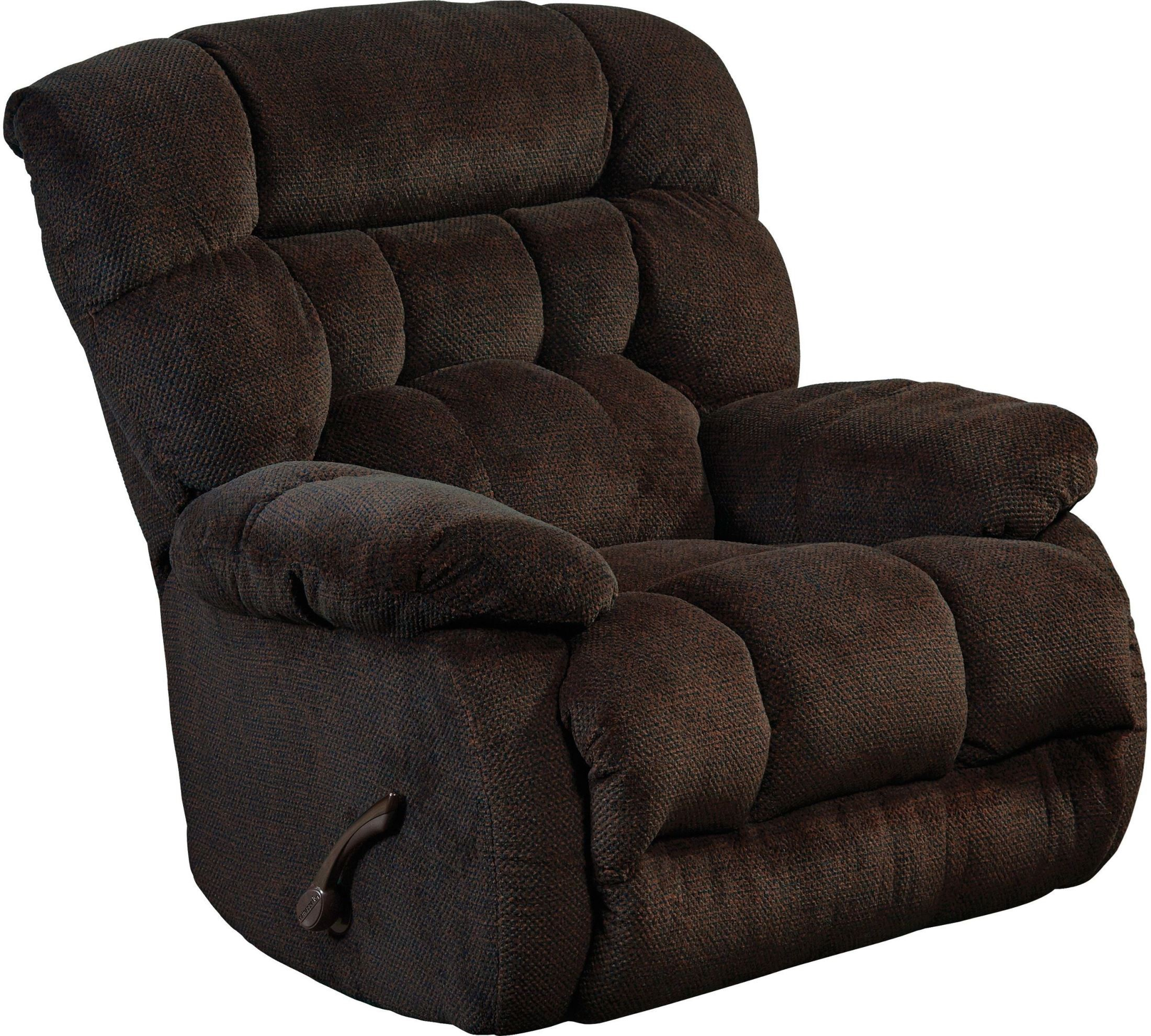 Daly chocolate chaise swivel glider recliner from for Catnapper chaise
