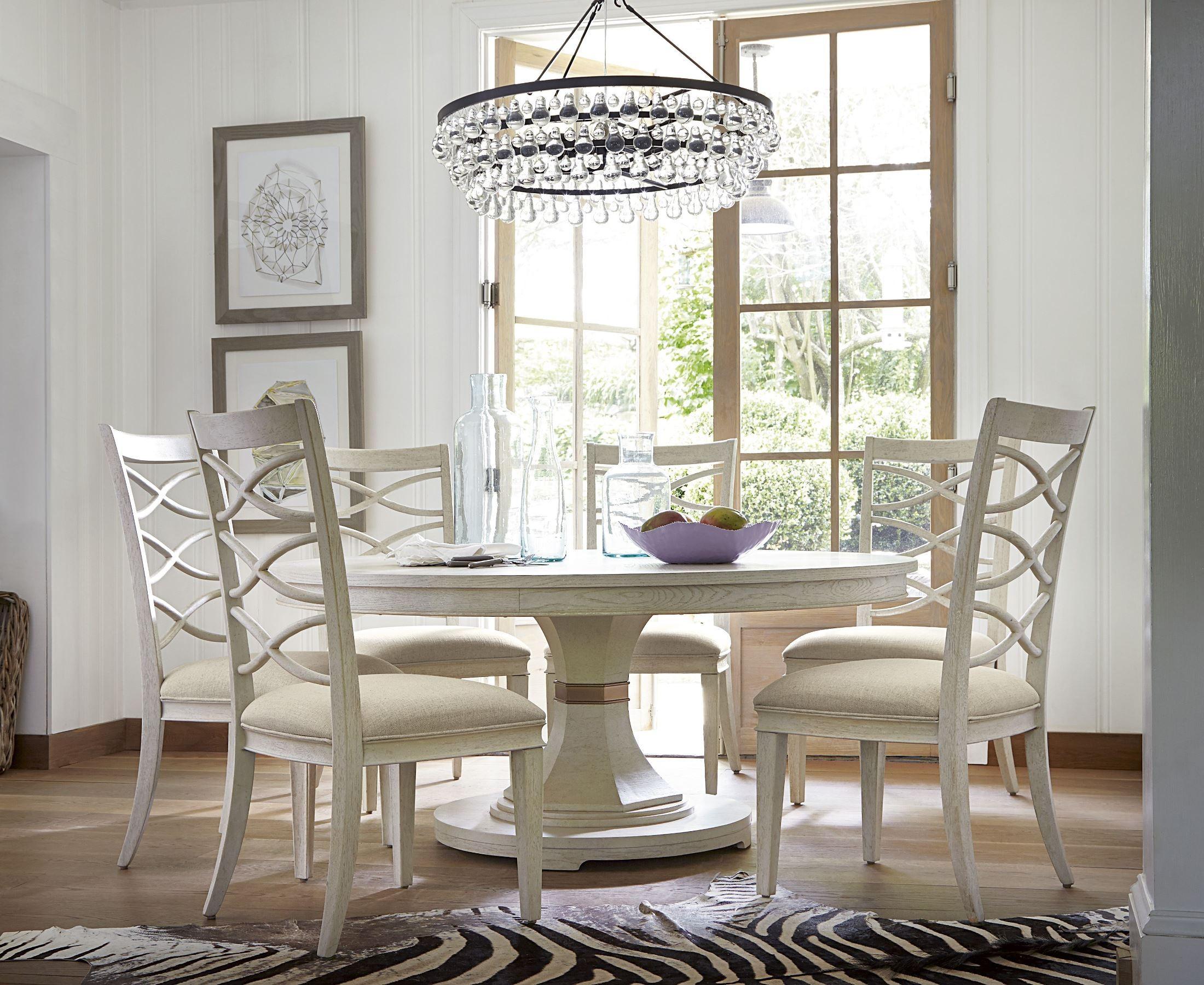 California Malibu Round Dining Room Set From Universal