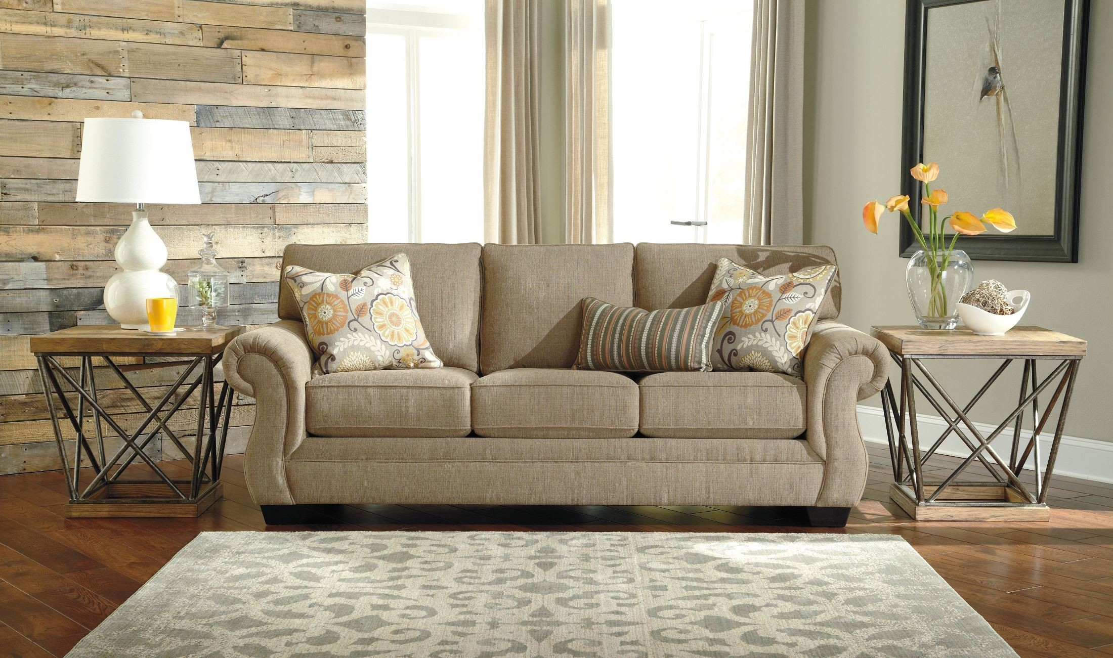 Tailya Barley Browns Sofa From Ashley 4770038 Coleman
