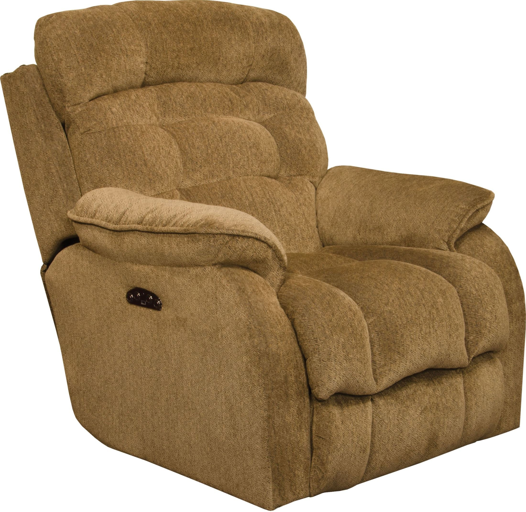 Crowley bronze power recliner from catnapper coleman for Catnapper cloud nine chaise recliner