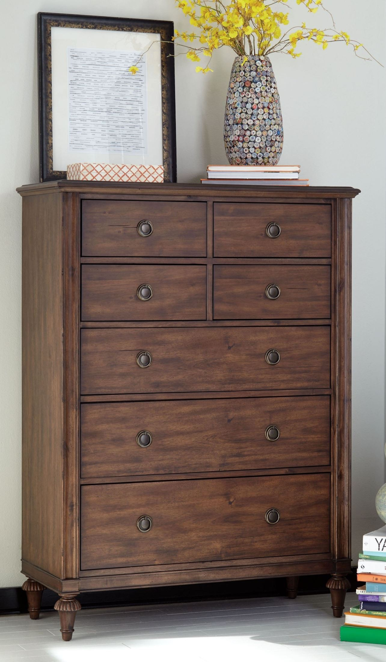 Cranford Spindle Metal Bedroom Set From Broyhill (4800-270