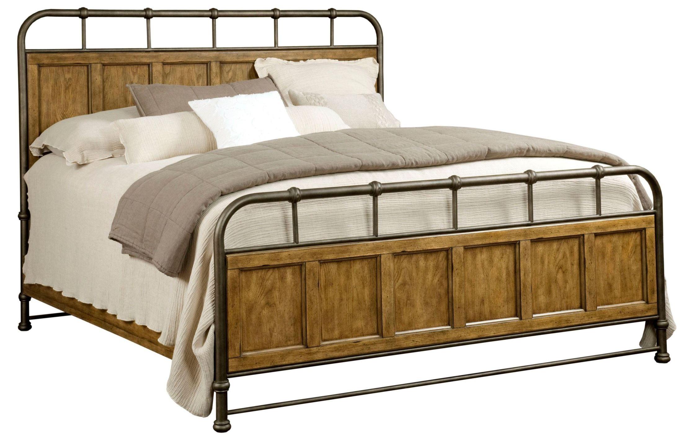 Vintage King Bed