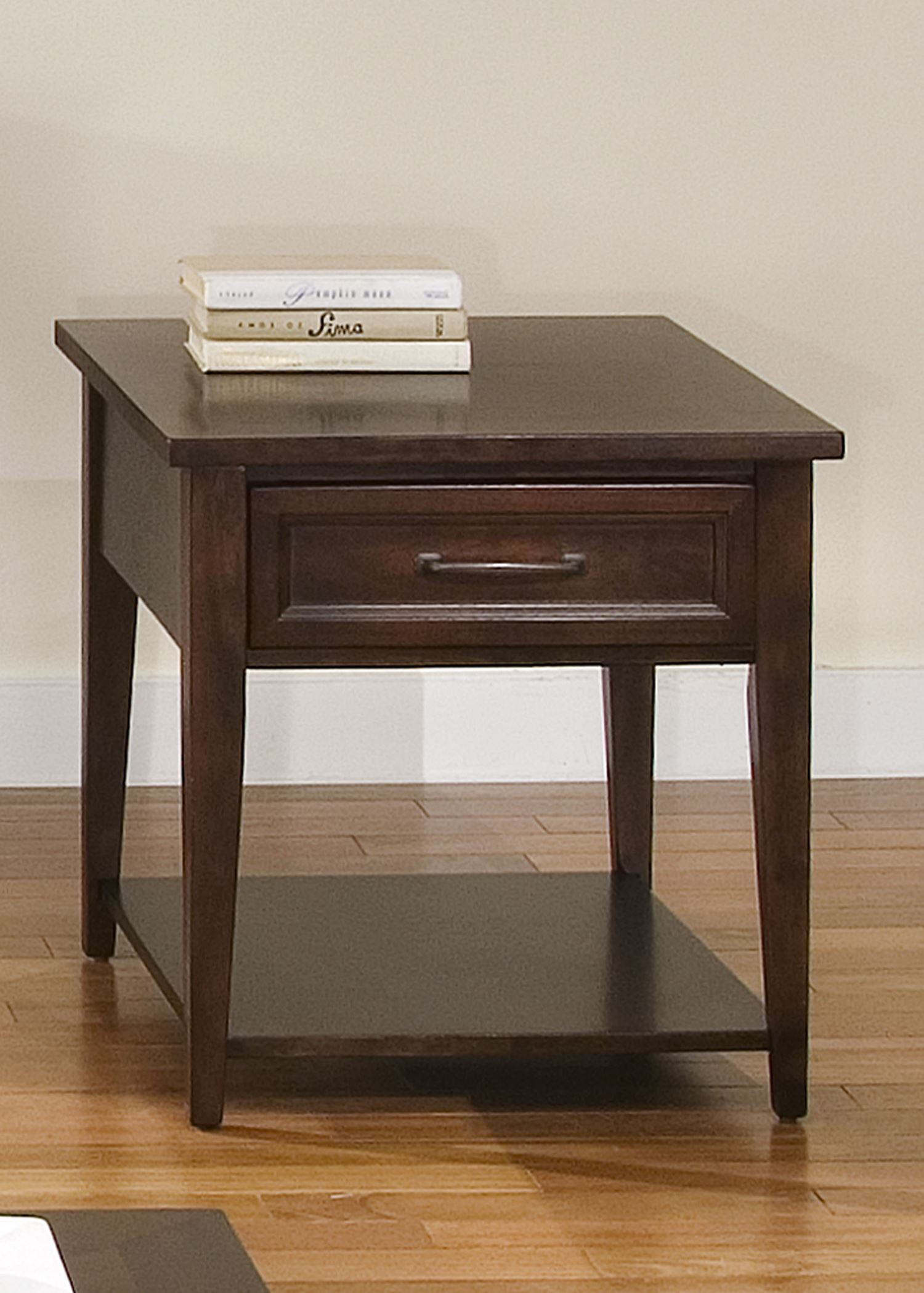 Lakewood Rectangular Amaretto End Table From Liberty 481