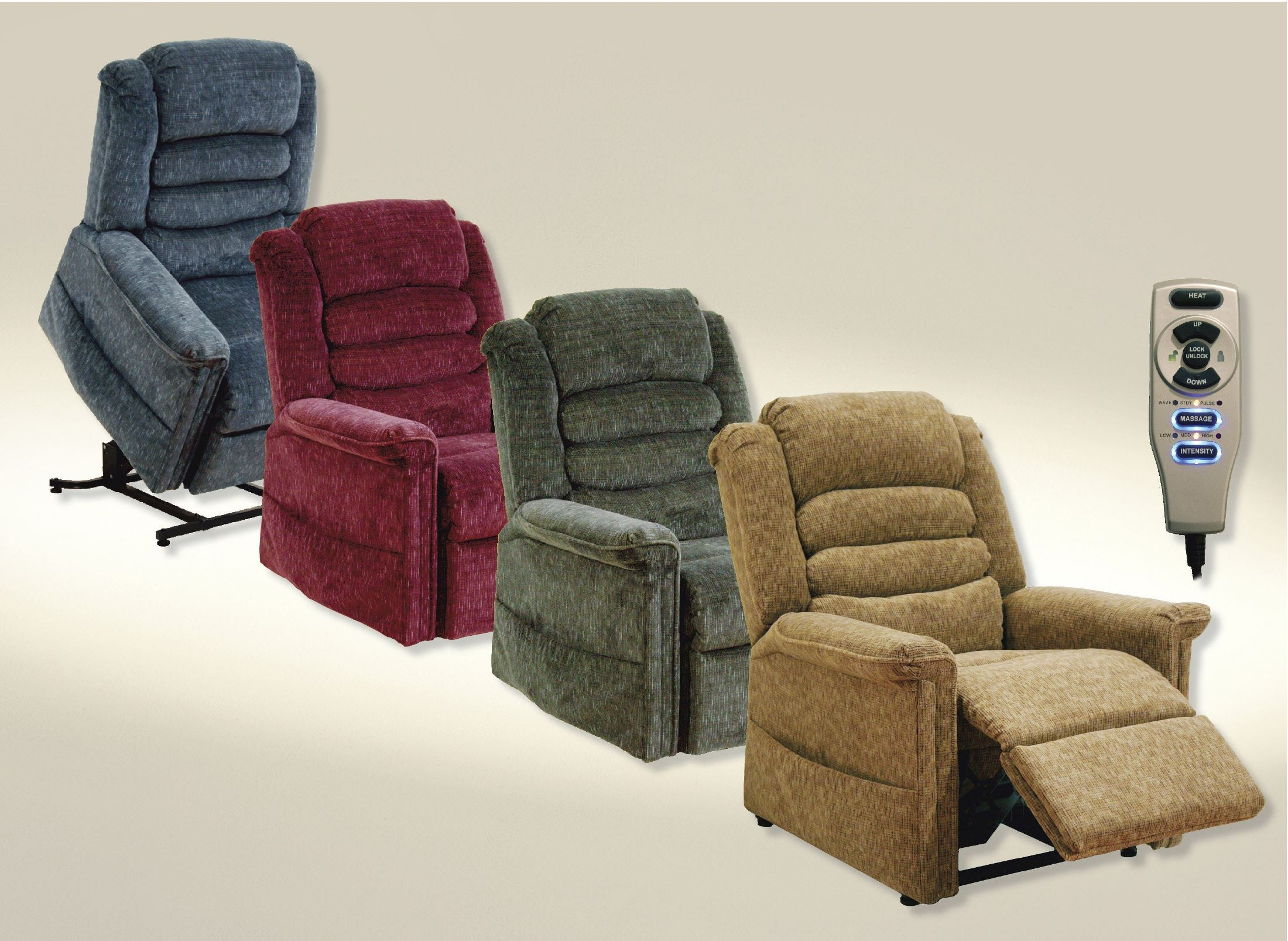 Soother Vino Power Lift Recliner From Catnapper