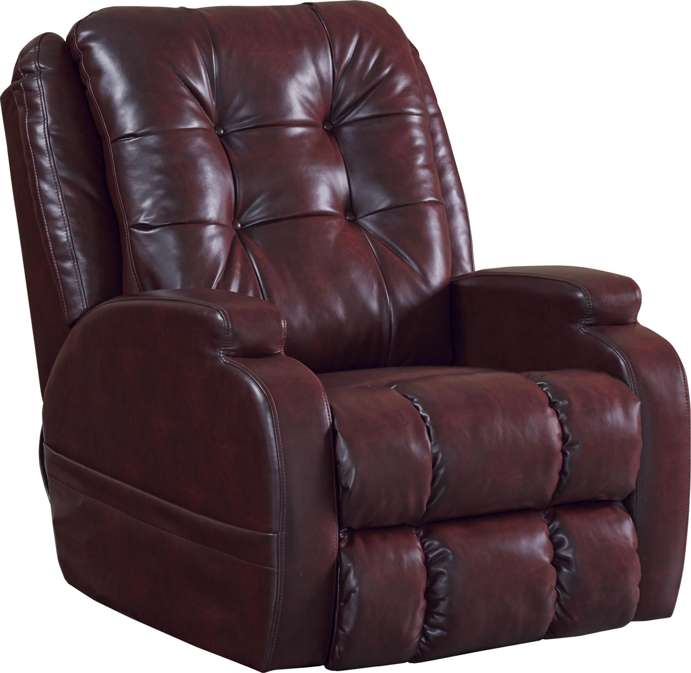 Jenson Burgundy Power Lift Recliner From Catnapper