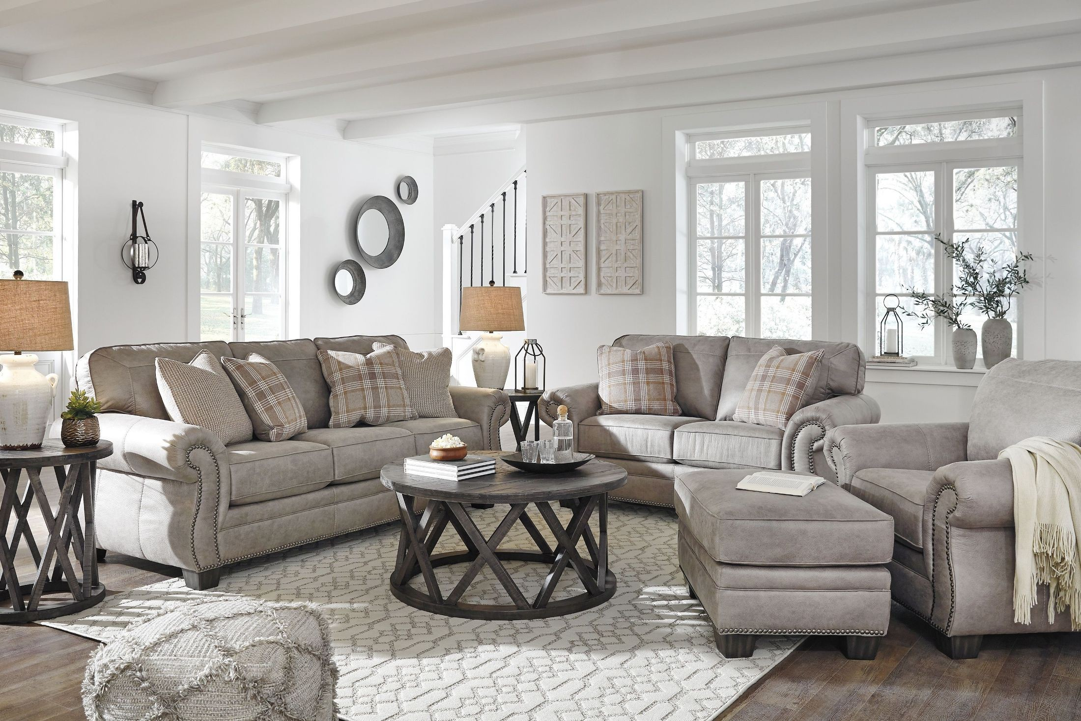 Olsberg steel living room set 2711565