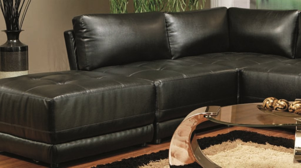 Black Modular Sectional - 500891 from Coaster (500891) : Coleman Furniture