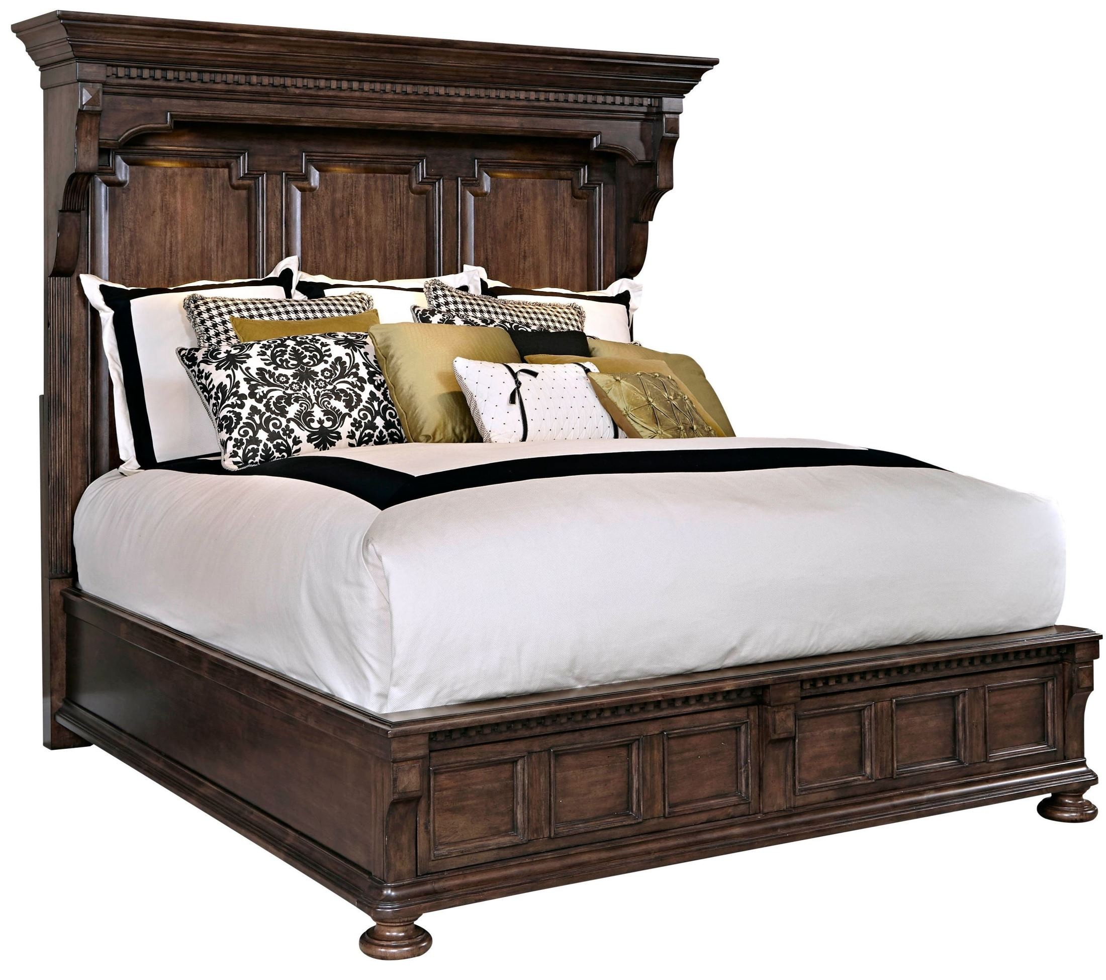 Lyla Queen Mansion Bed, 4912-260-265-460, Broyhill