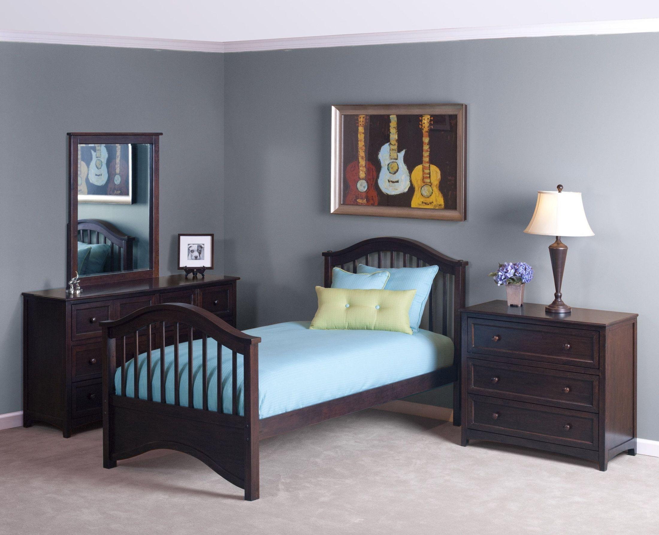 School house chocolate jordan youth panel bedroom set from ne kids coleman furniture for Jordans furniture bedroom sets