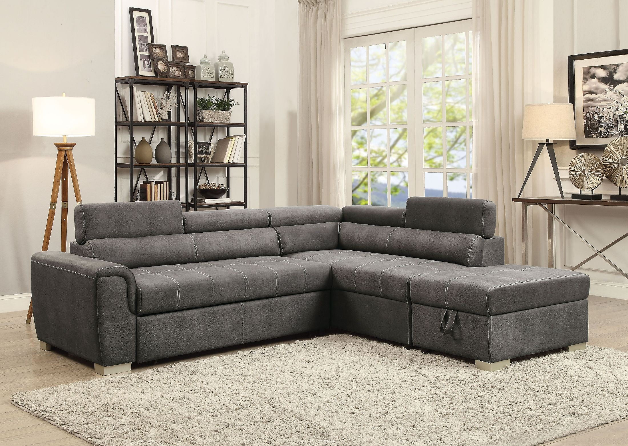 sleeper sofas with fresh leather storage photograph sectional elegant of sofa