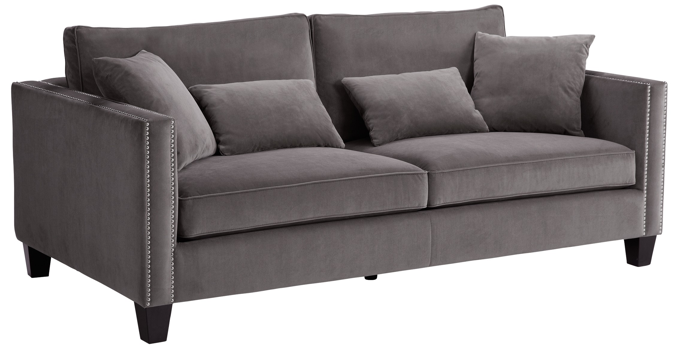 Cathedral Grey Portsmouth Sofa From Sunpan 50339 3