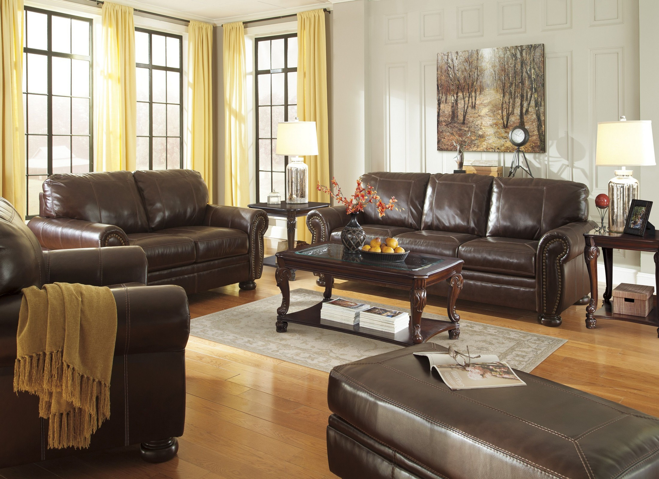 Banner Coffee Living Room Set From Ashley 5040438