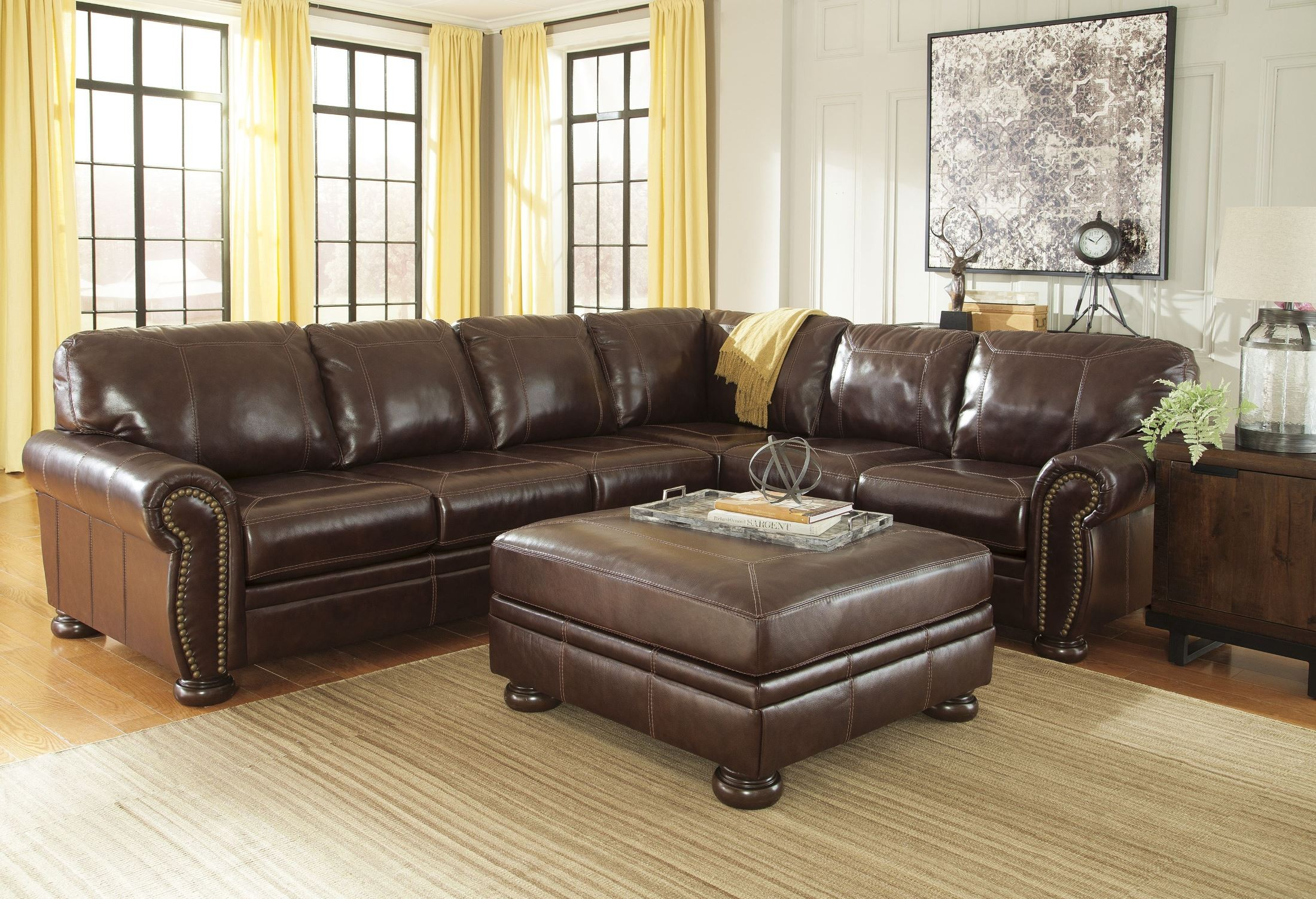 Banner Coffee Laf Sectional From Ashley 5040455