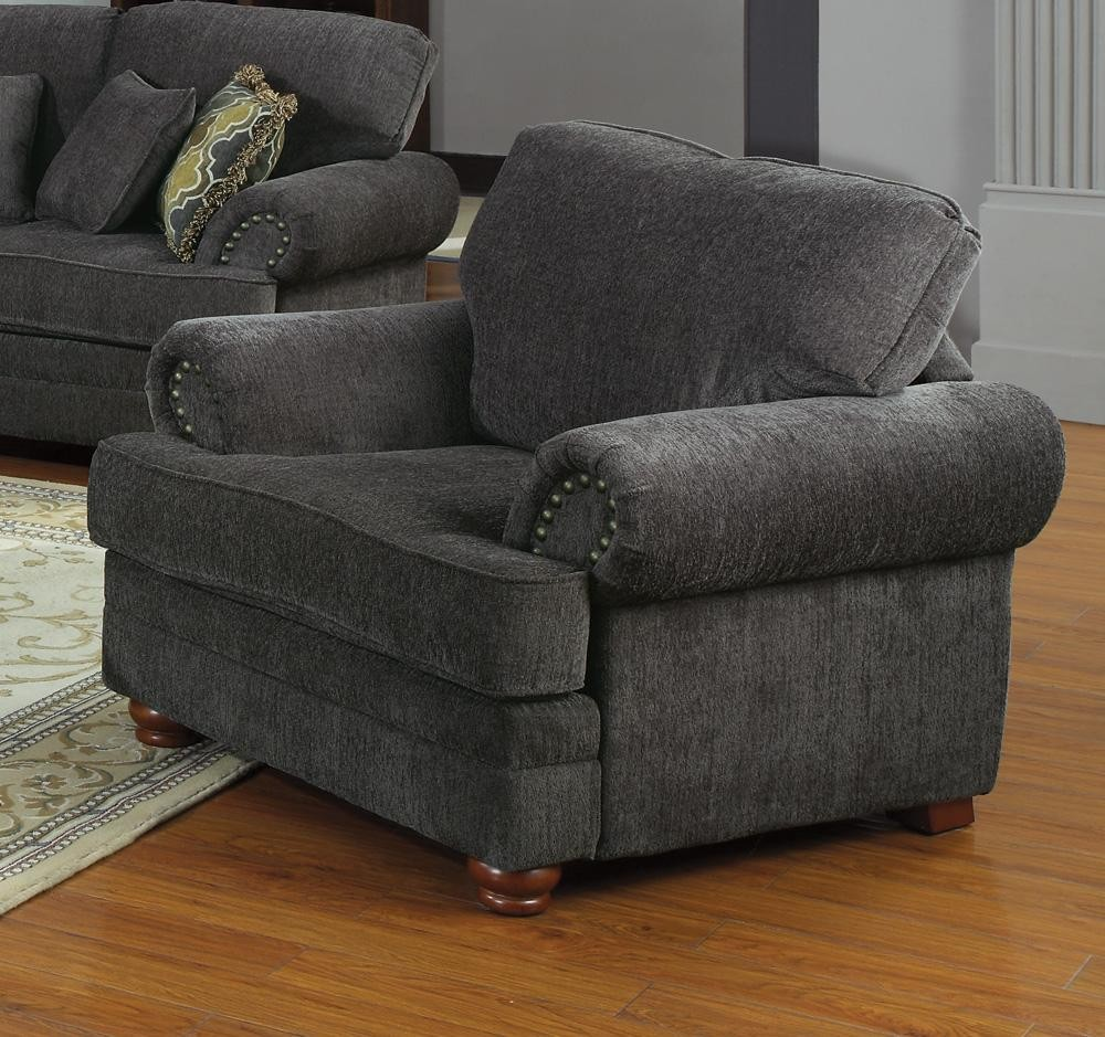 Colton Grey Living Room Set from Coaster (504401) | Coleman Furniture
