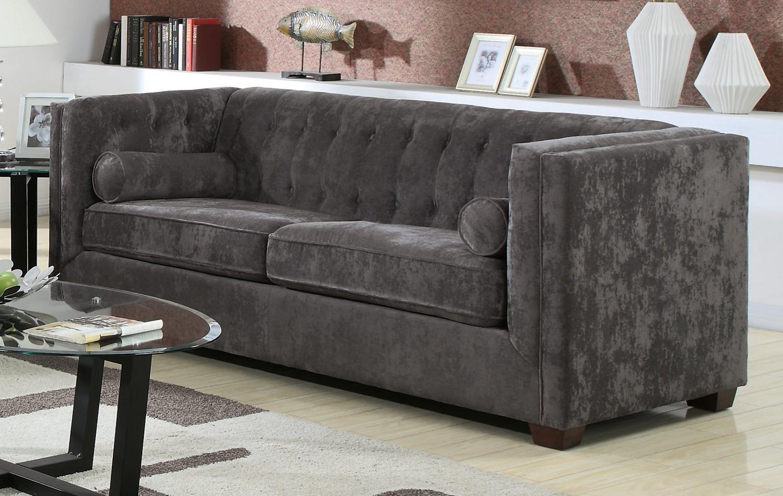 Marvelous Alexis Charcoal Sofa