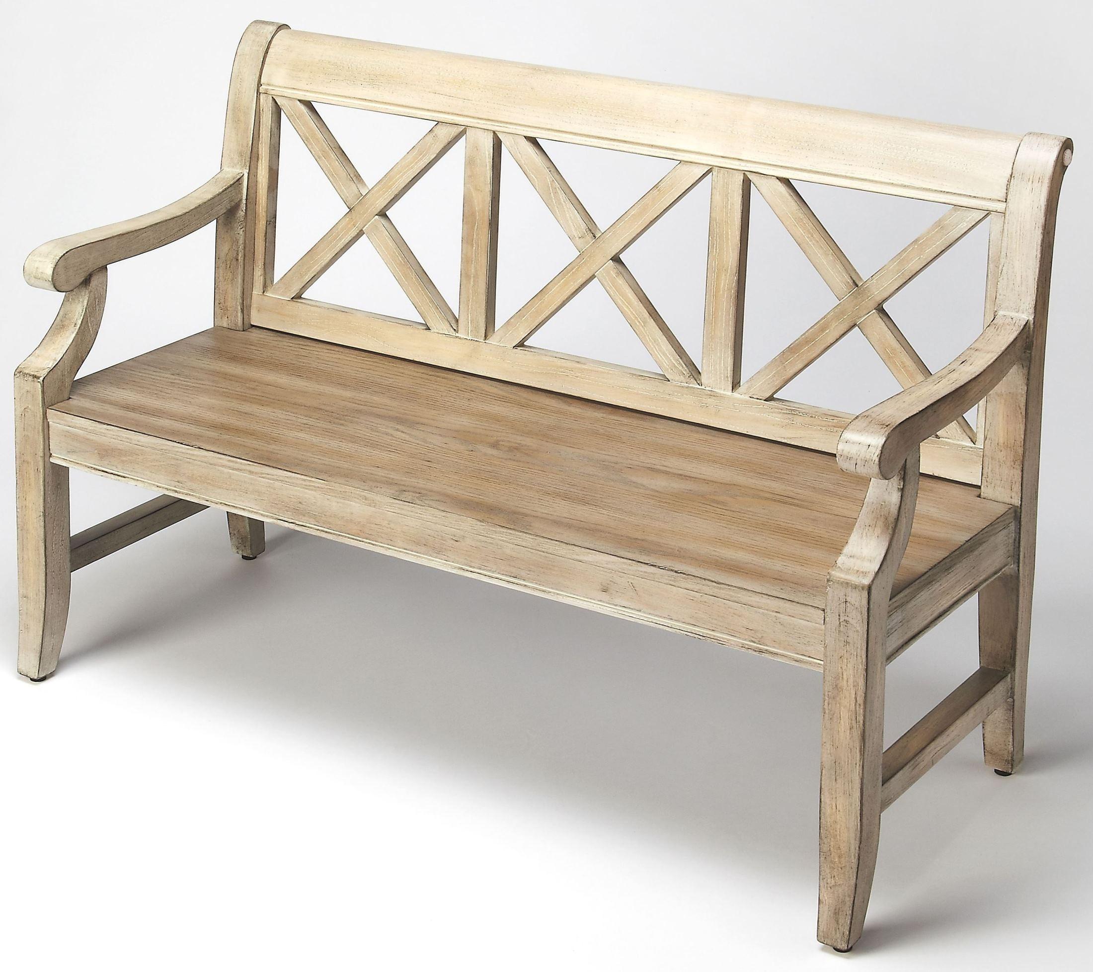 Gerrit Driftwood Bench From Butler Coleman Furniture