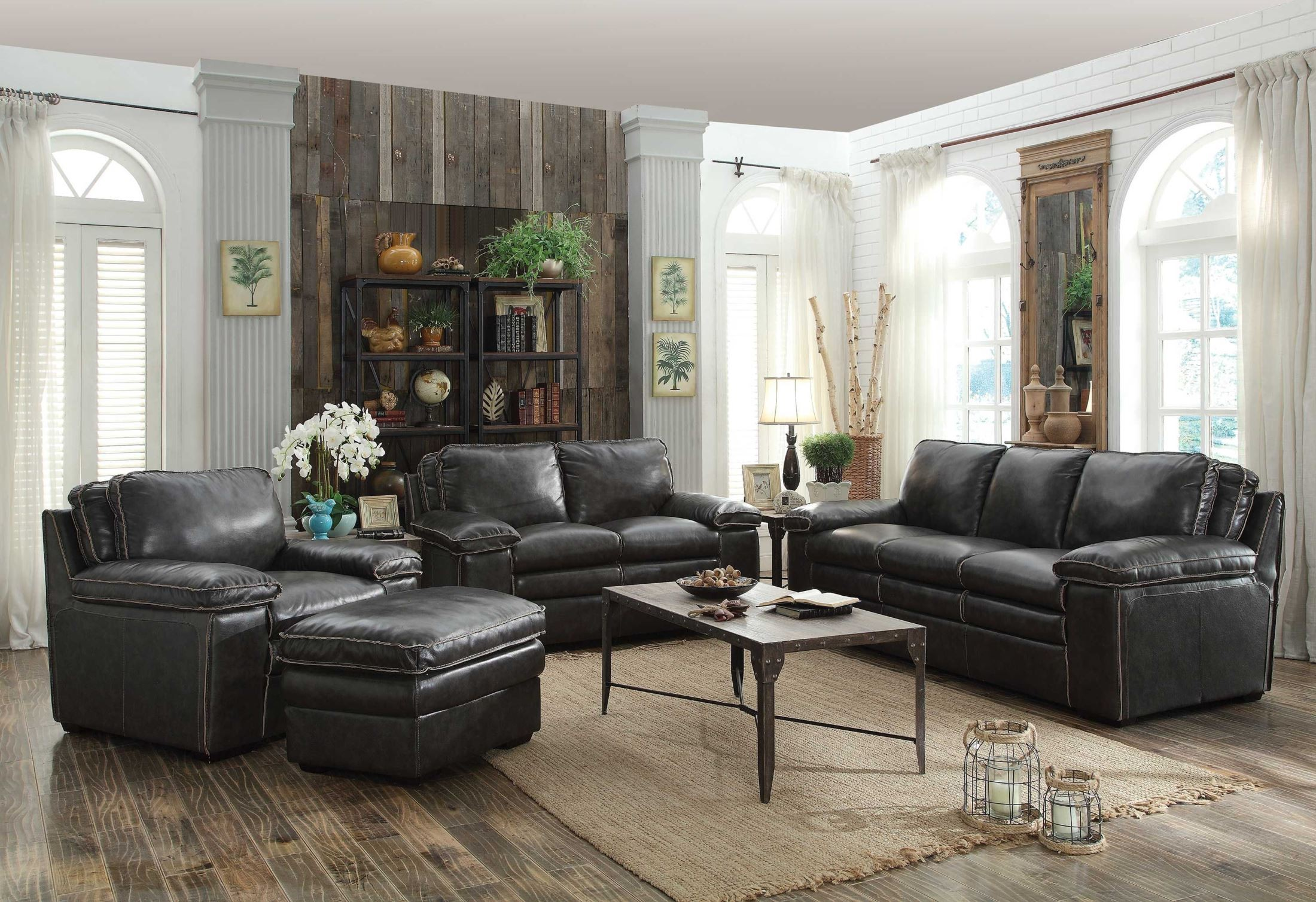charcoal living room furniture regalvale charcoal living room set from coaster 505841 12794