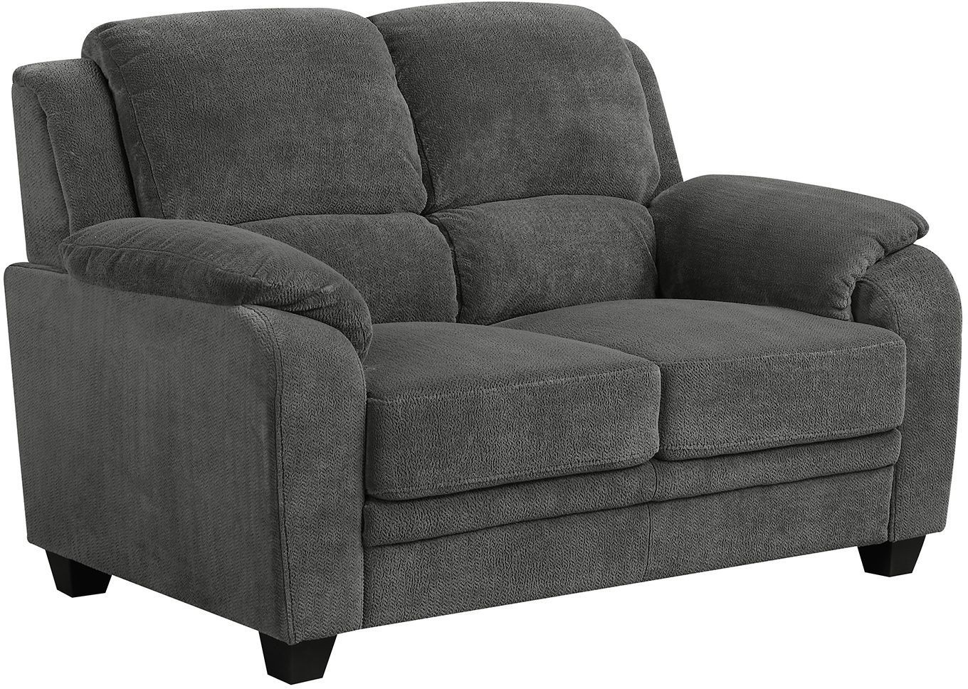 Northend Charcoal Loveseat 506242 Coaster Furniture