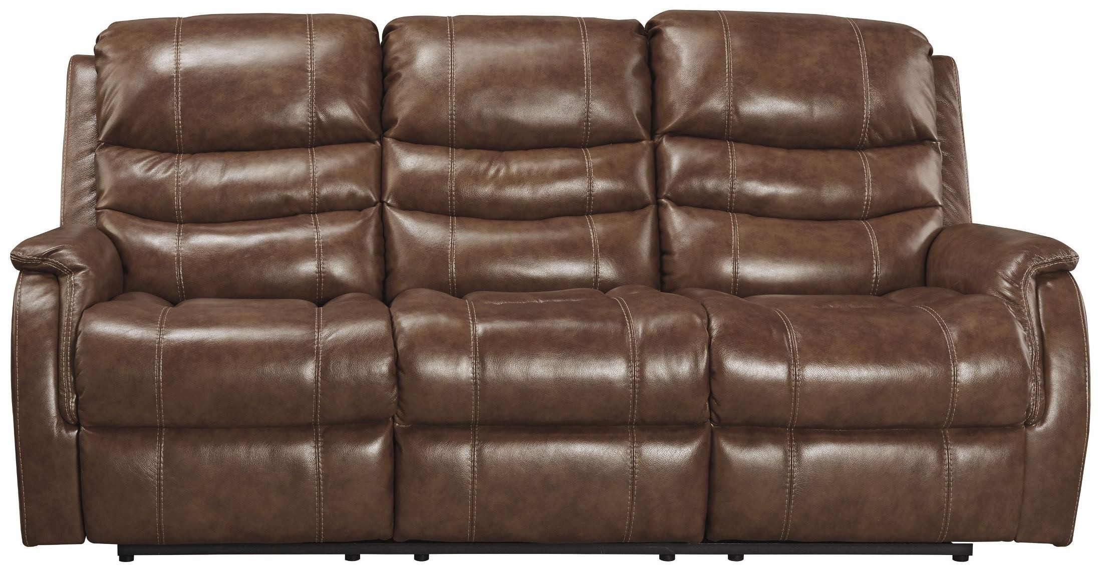 Metcalf Nutmeg Power Reclining Sofa from Ashley