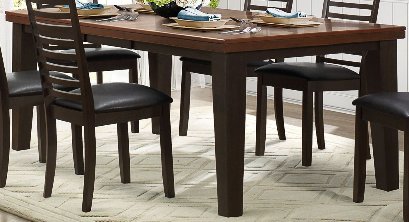 Walsh uv coating top extendable dining table from for Best extendable dining table