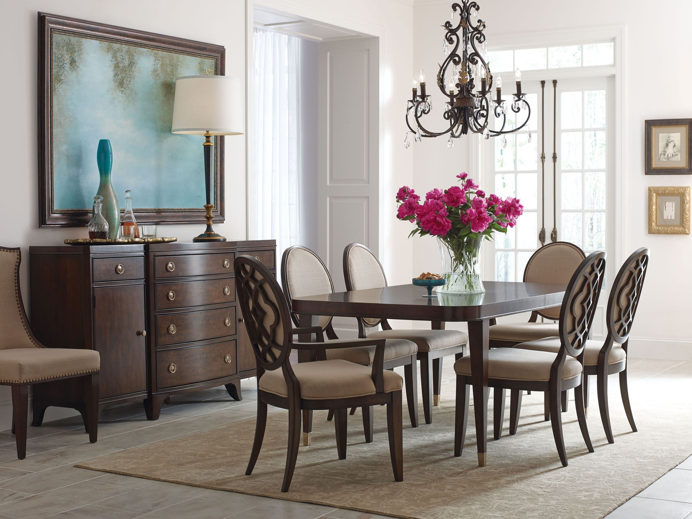 Dining Sets Oakleigh Living And Dining: Grantham Hall Deep Dining Room Set From American Drew (512