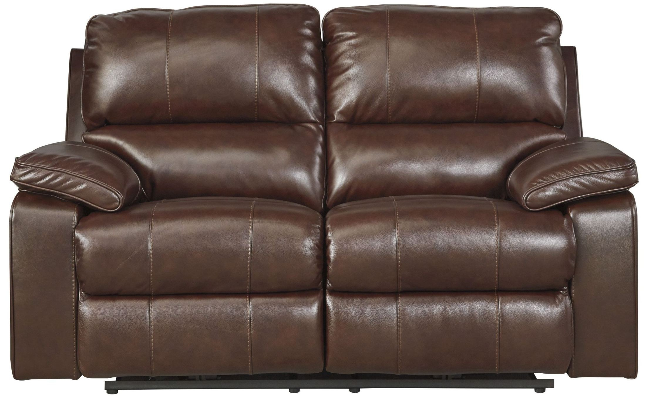 Transister Coffee Power Reclining Loveseat From Ashley