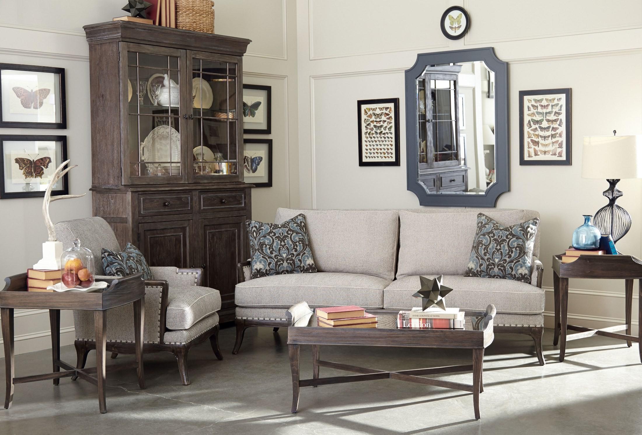St Germain Siene Pewter Upholstered Living Room Set From Art 515521 5001aa Coleman Furniture