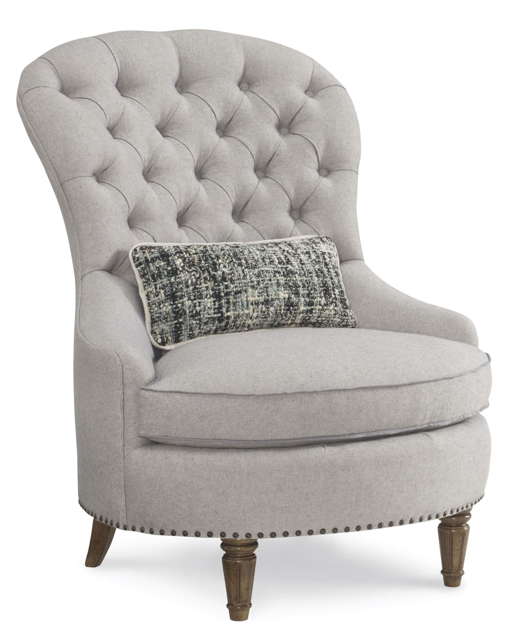 Upholstered Accent Chairs: Collection One Upholstered Christiansen Tufted Accent