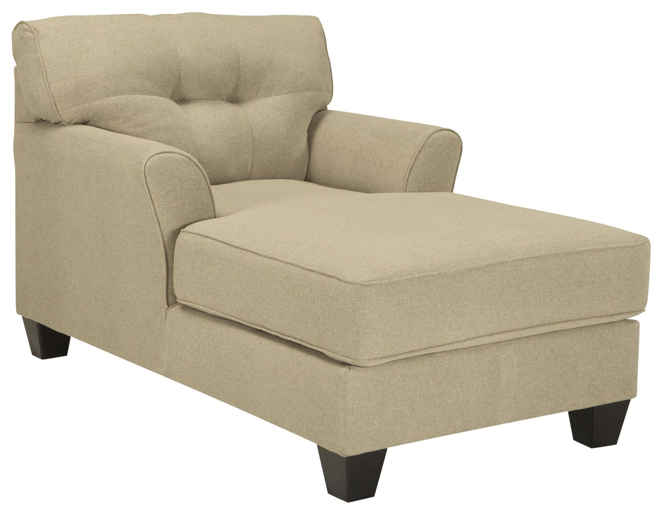 Laryn khaki chaise from ashley 5190215 coleman furniture for Chaise kaki