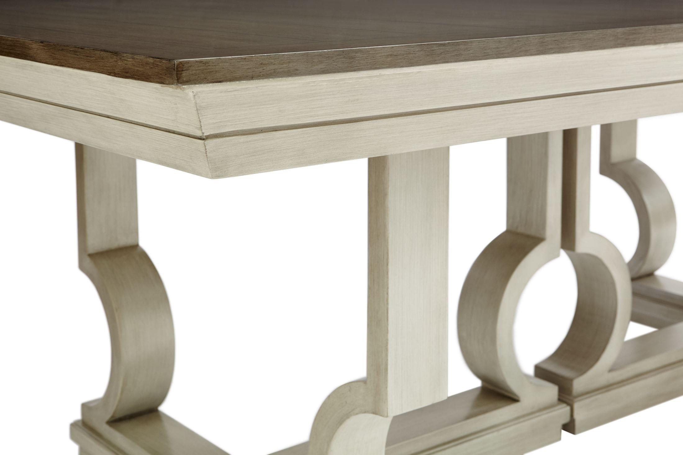 Coastal Living Dining Table: Coastal Living Oasis Oyster Moonrise Extendable Pedestal
