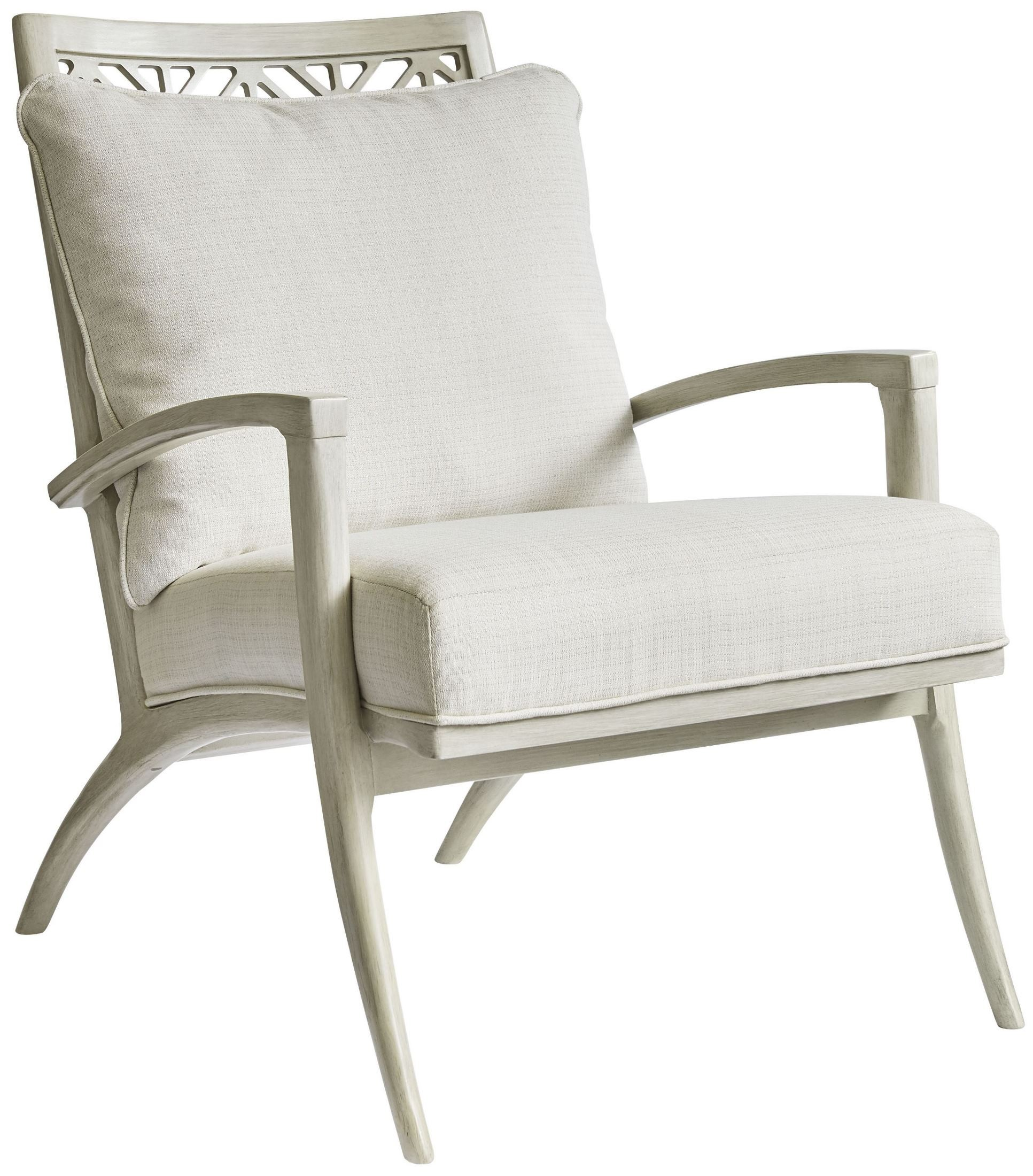 Stanley Nautical Accent Chair: Coastal Living Oasis Oyster Catalina Accent Chair, 527-55