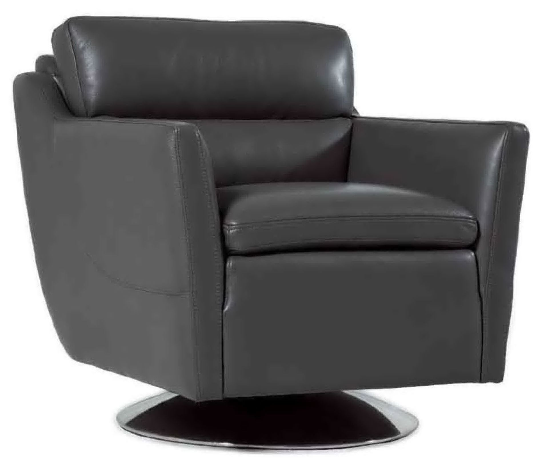 clio grain cool grey leather chair from moroni coleman furniture. Black Bedroom Furniture Sets. Home Design Ideas