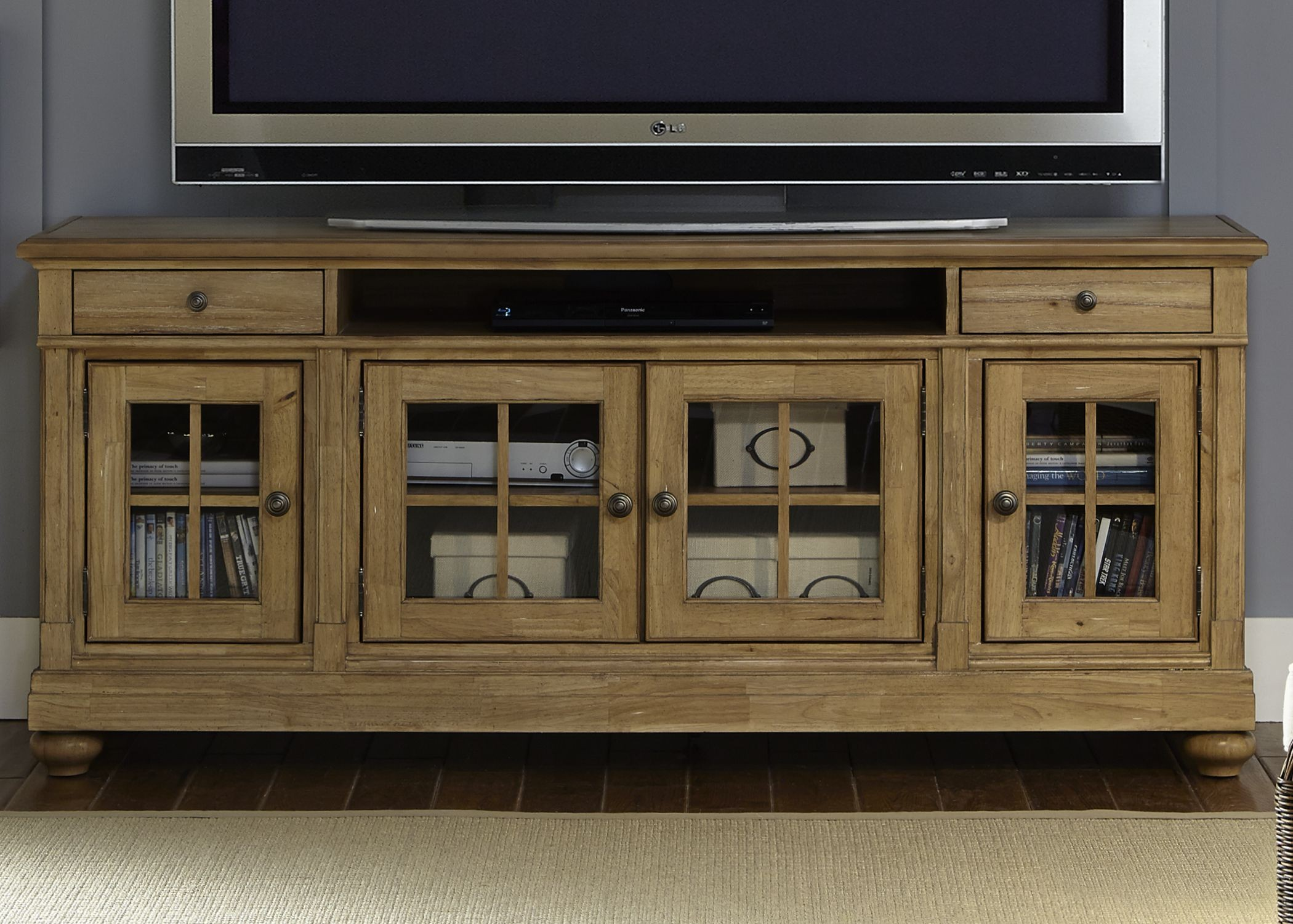 Harbor View Sand 74 Quot Tv Console From Liberty 531 Tv74