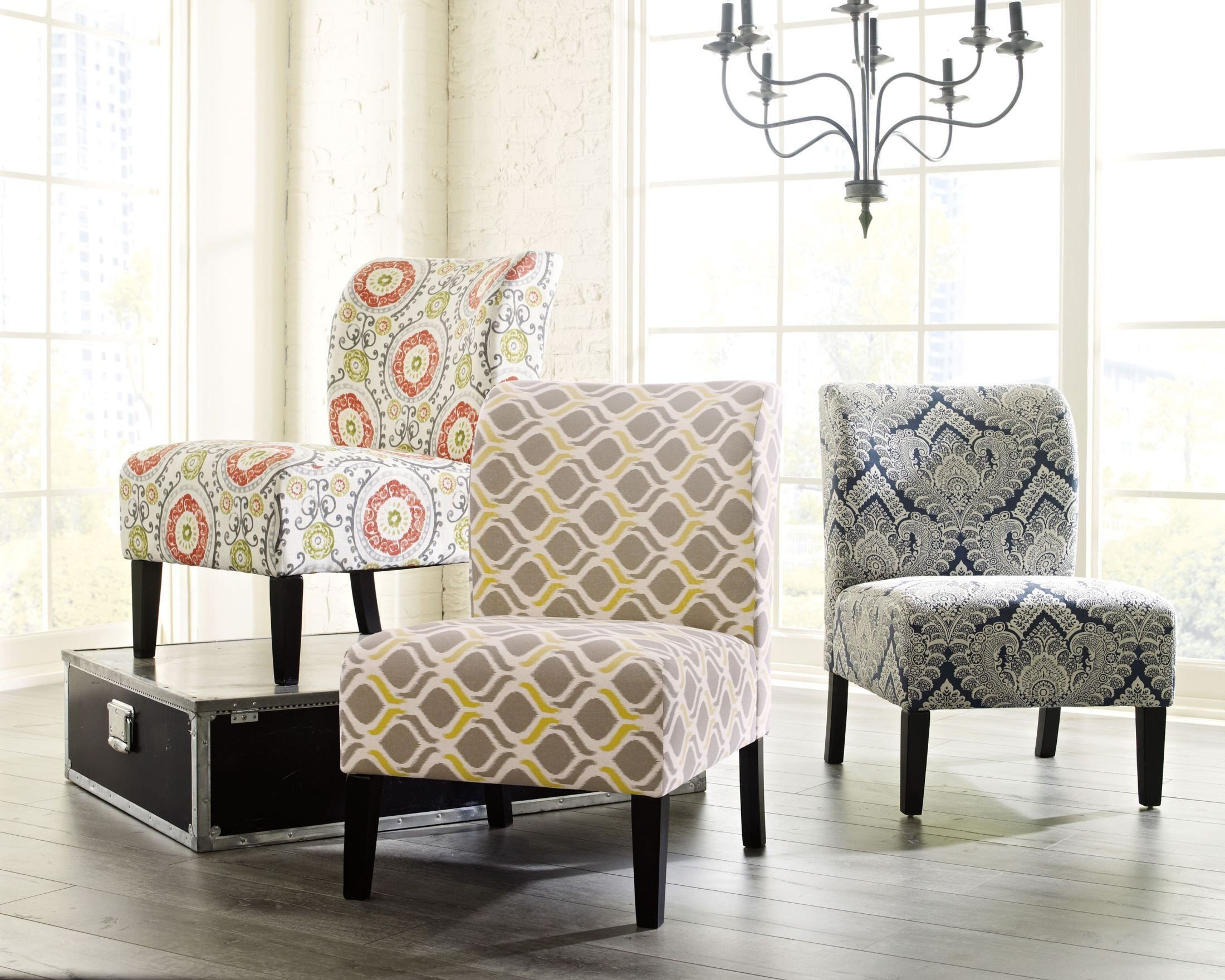 Honnally Floral Accent Chair From Ashley 5330260