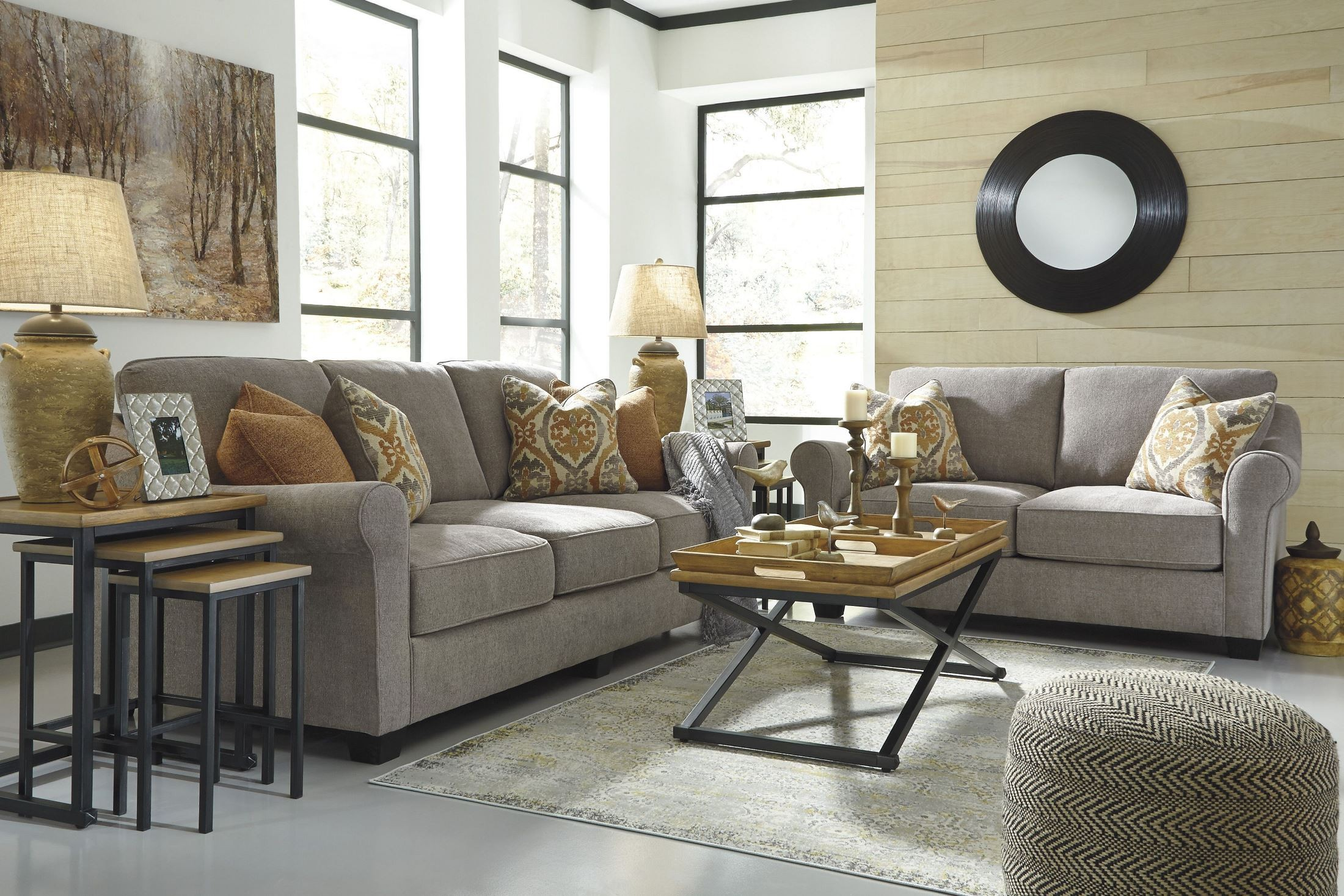Leola Slate Sofa from Ashley