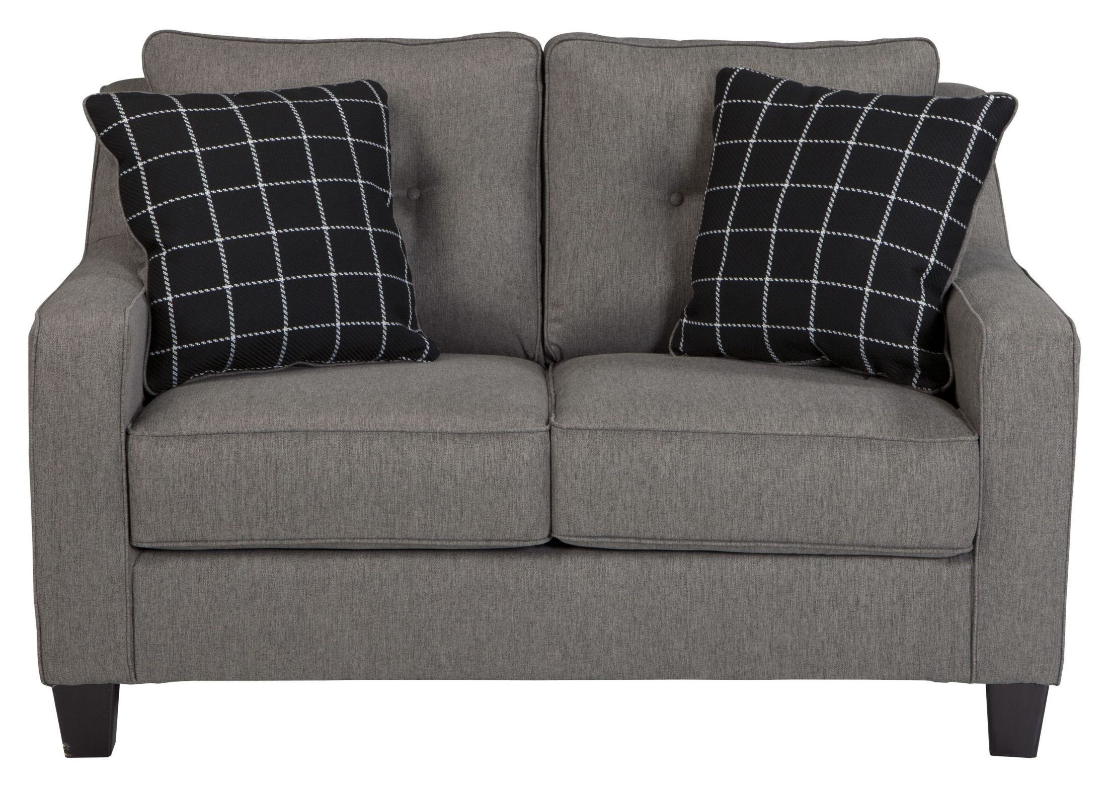 Brindon Charcoal Loveseat From Ashley 5390135 Coleman Furniture