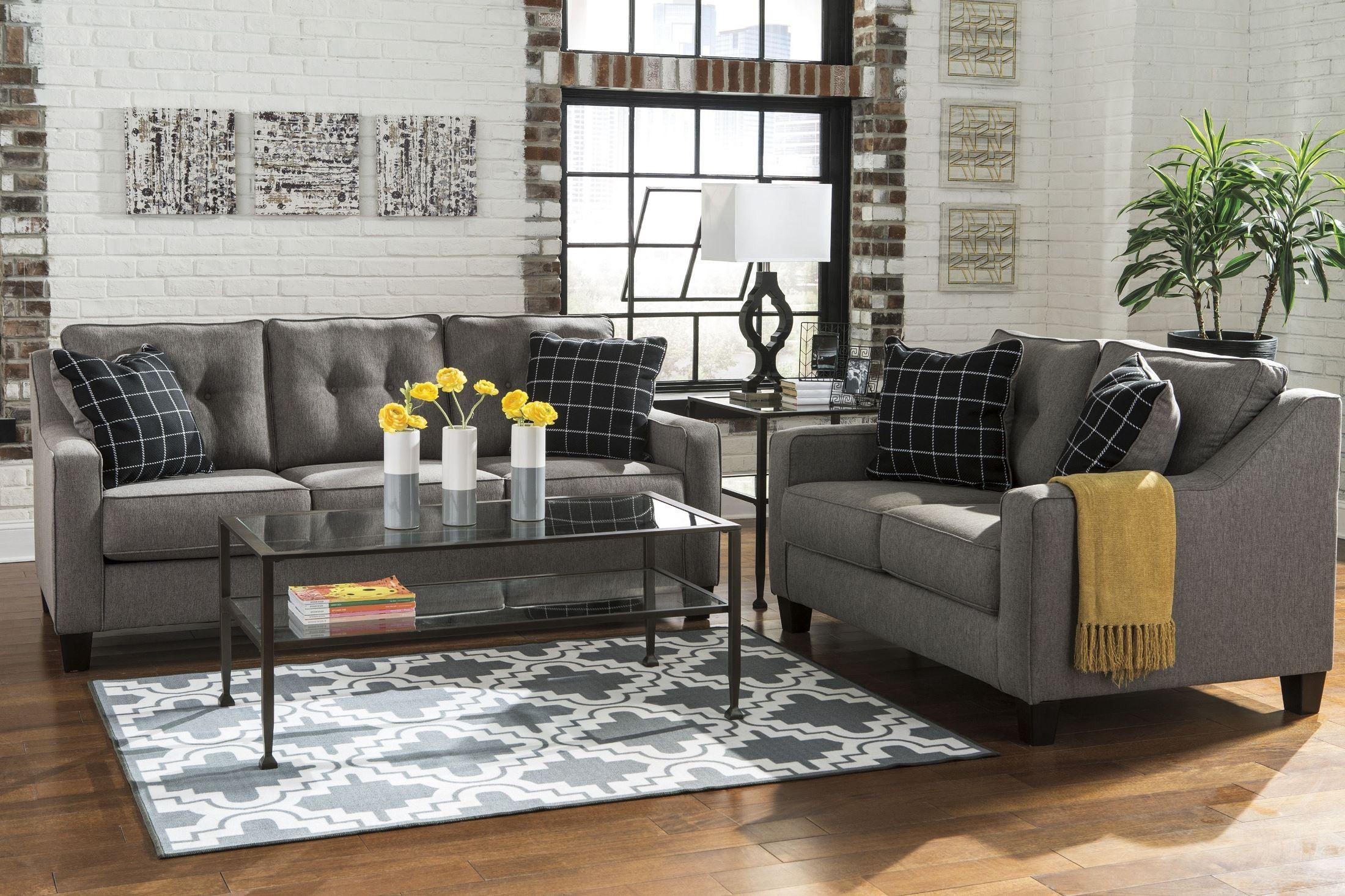 Brindon Charcoal Sofa from Ashley