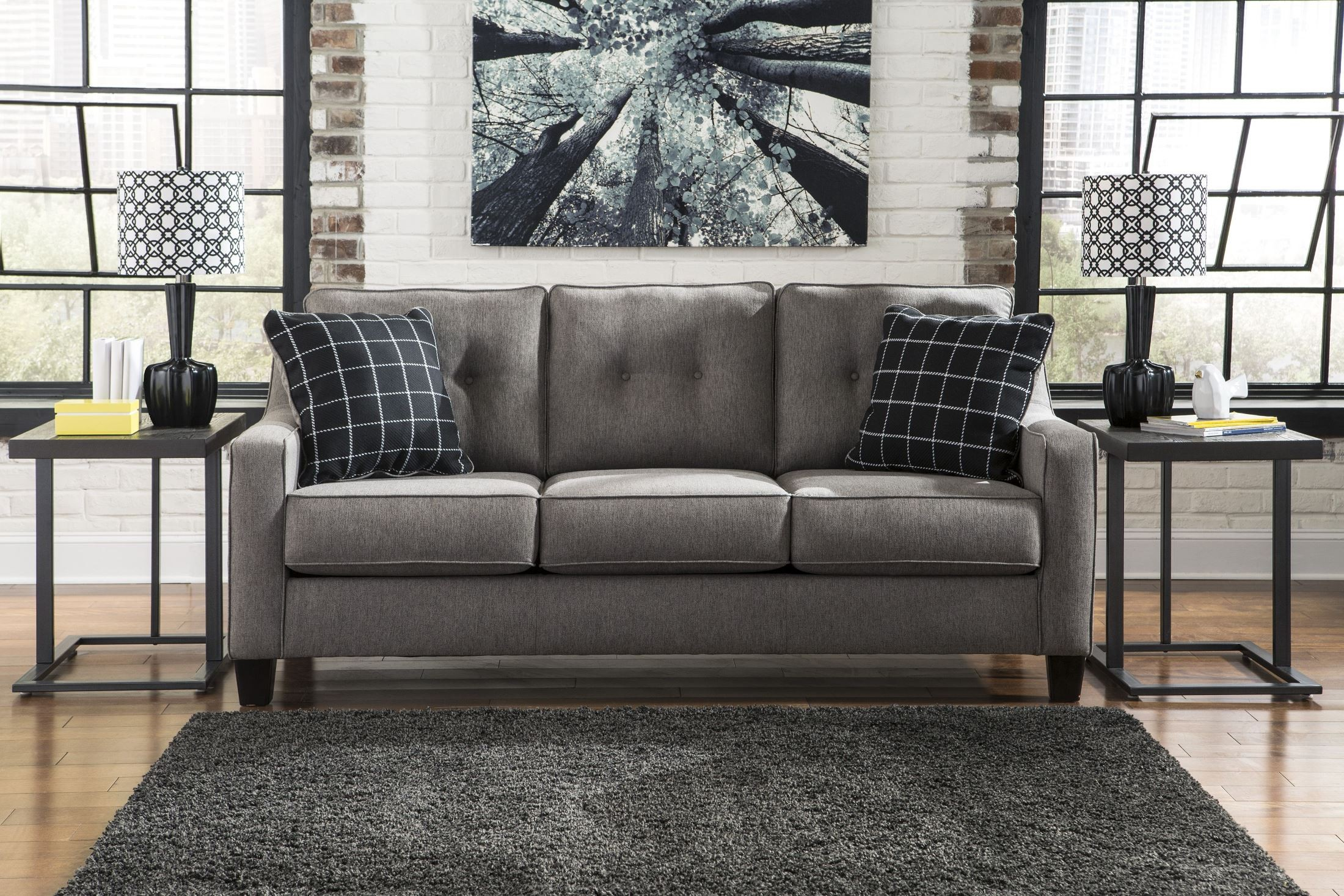 Brindon Charcoal Sofa from Ashley