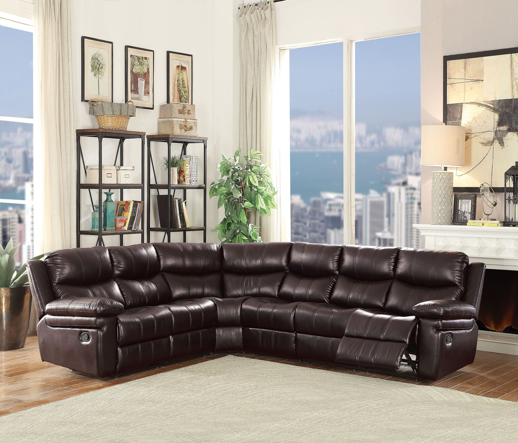 search recliner jsp leather sectionals wayne reclining willey living sofa piece sectional rc room furniture rcwilley black
