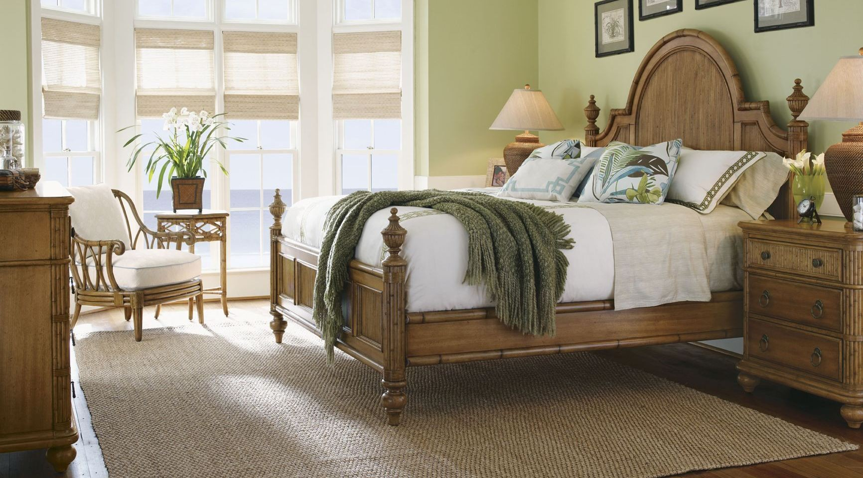 Beach House Belle Isle Poster Bedroom Set From Tommy