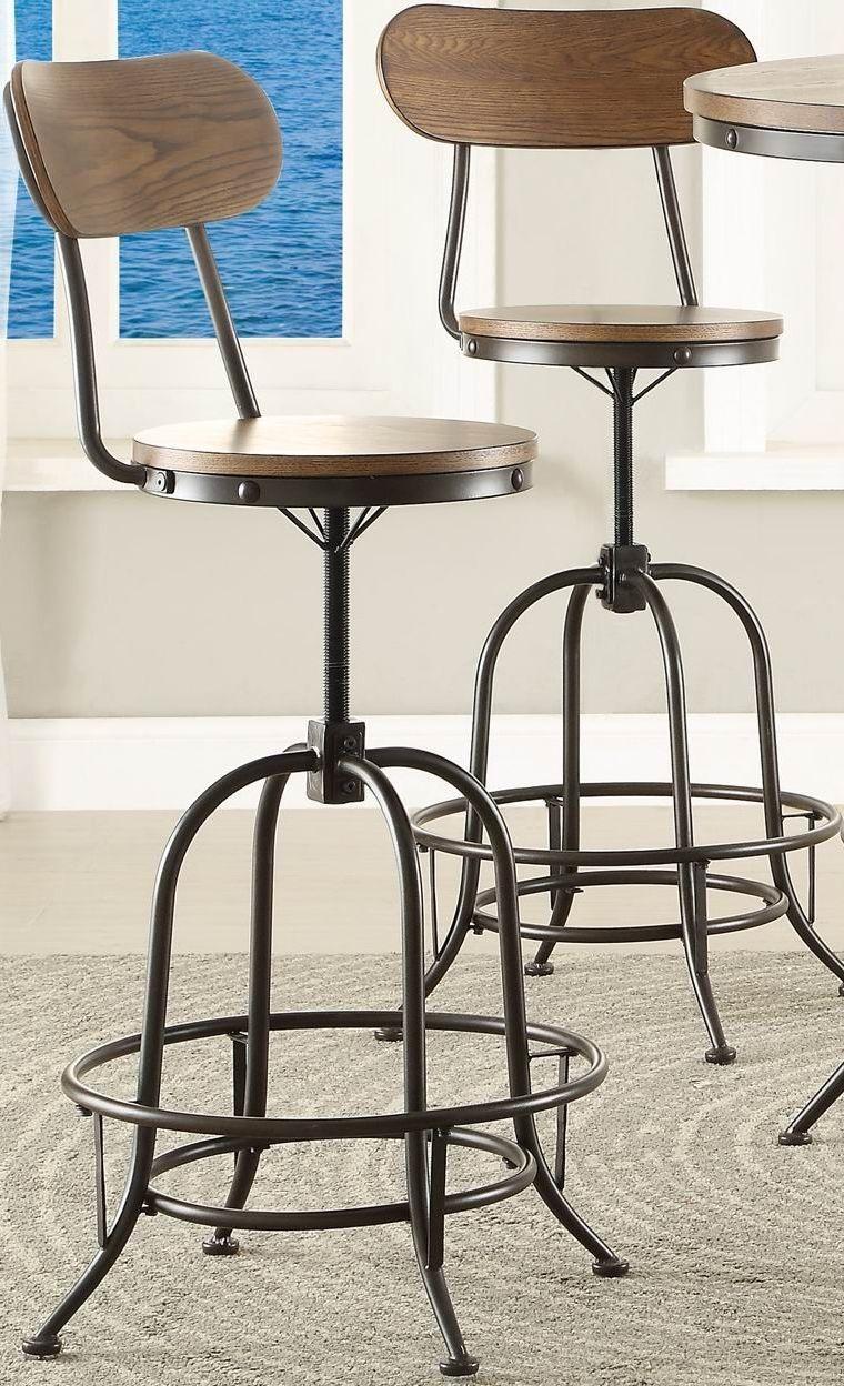 angstrom black counter height dining room set 5429 36 homelegance. Black Bedroom Furniture Sets. Home Design Ideas